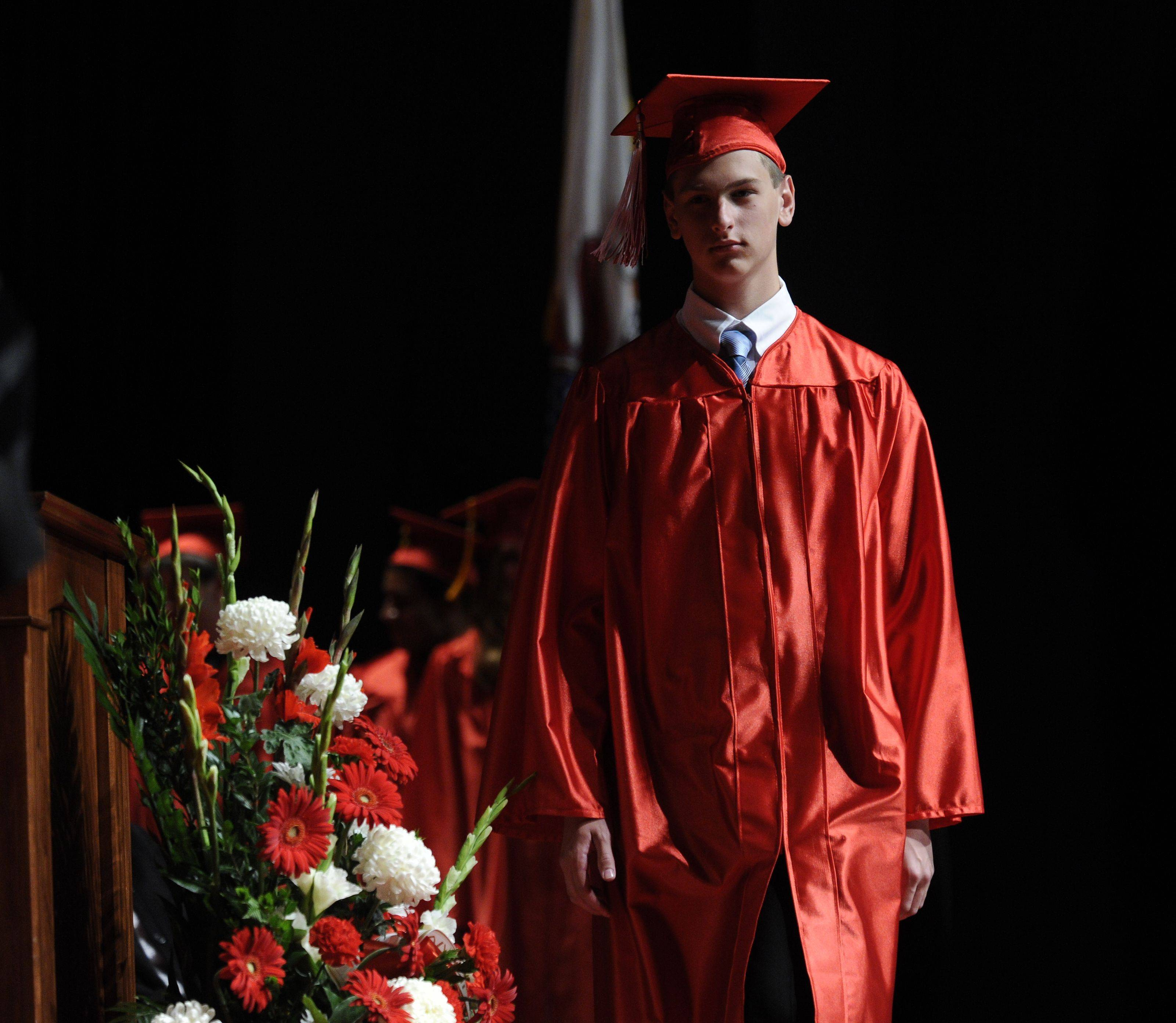 Images from the Maine South High School graduation on Monday, June 6th.