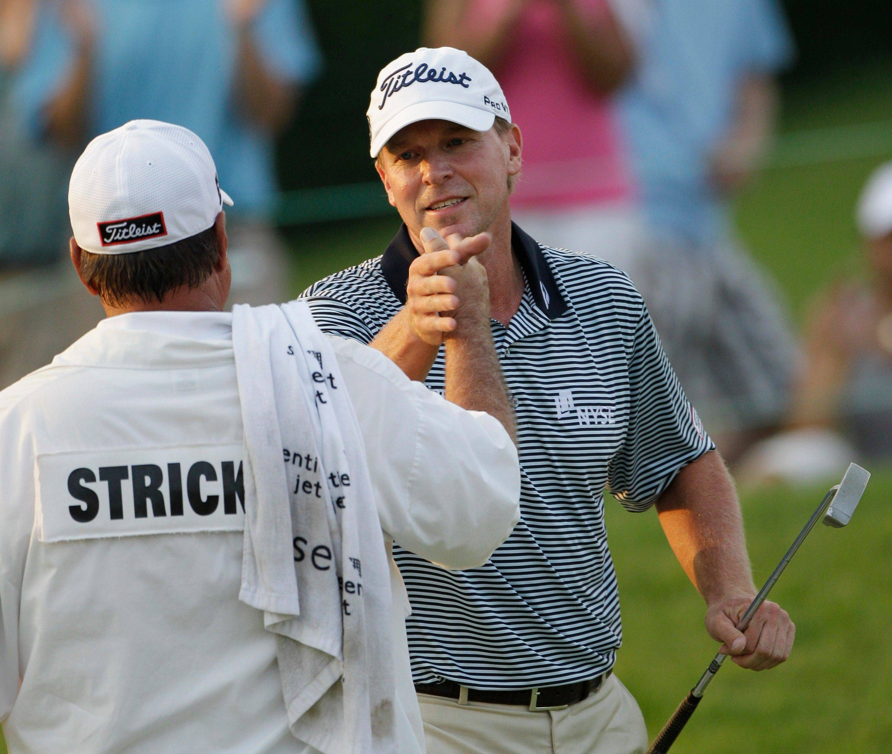 With the 10th PGA Tour victory of his career on Sunday at the Memorial Tournament, former Illini golfer Steve Stricker now is 11th on the all-time money list with more than $30.1 million in winnings. Among his titles: 1996 Kemper Open and the 1996 Western Open. Northwestern's Luke Donald, the current No. 1 player in the world, is 24th on the career list at $22.1 million.