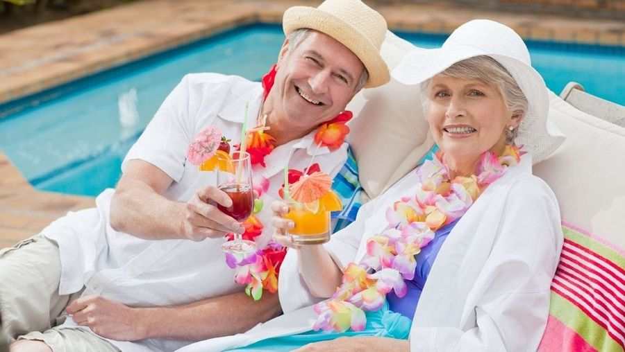 Image result for pictures of seniors on vacation