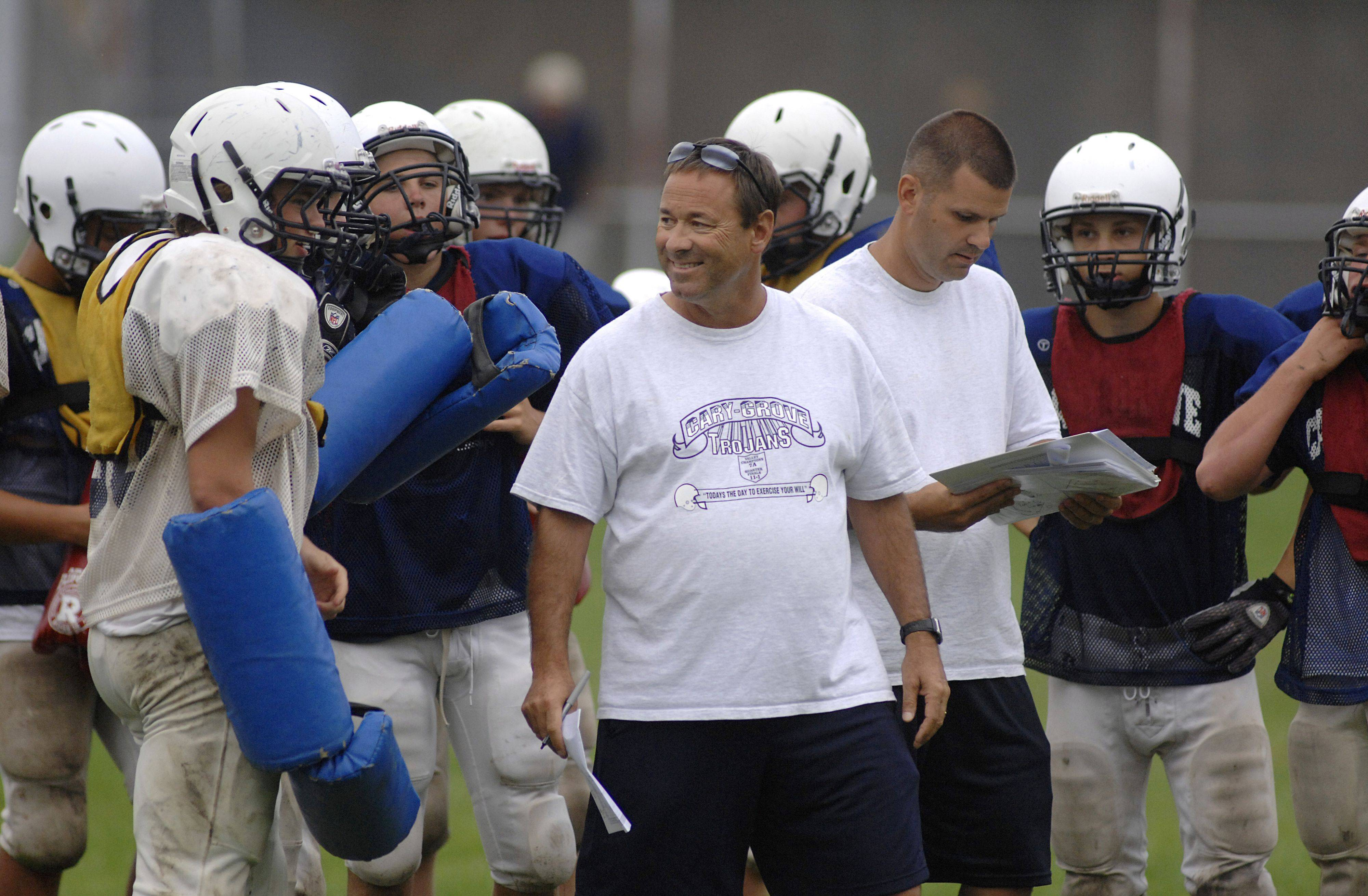 Cary-Grove football coach and athletic director Bruce Kay announced his retirement after 22 years and a state championship.