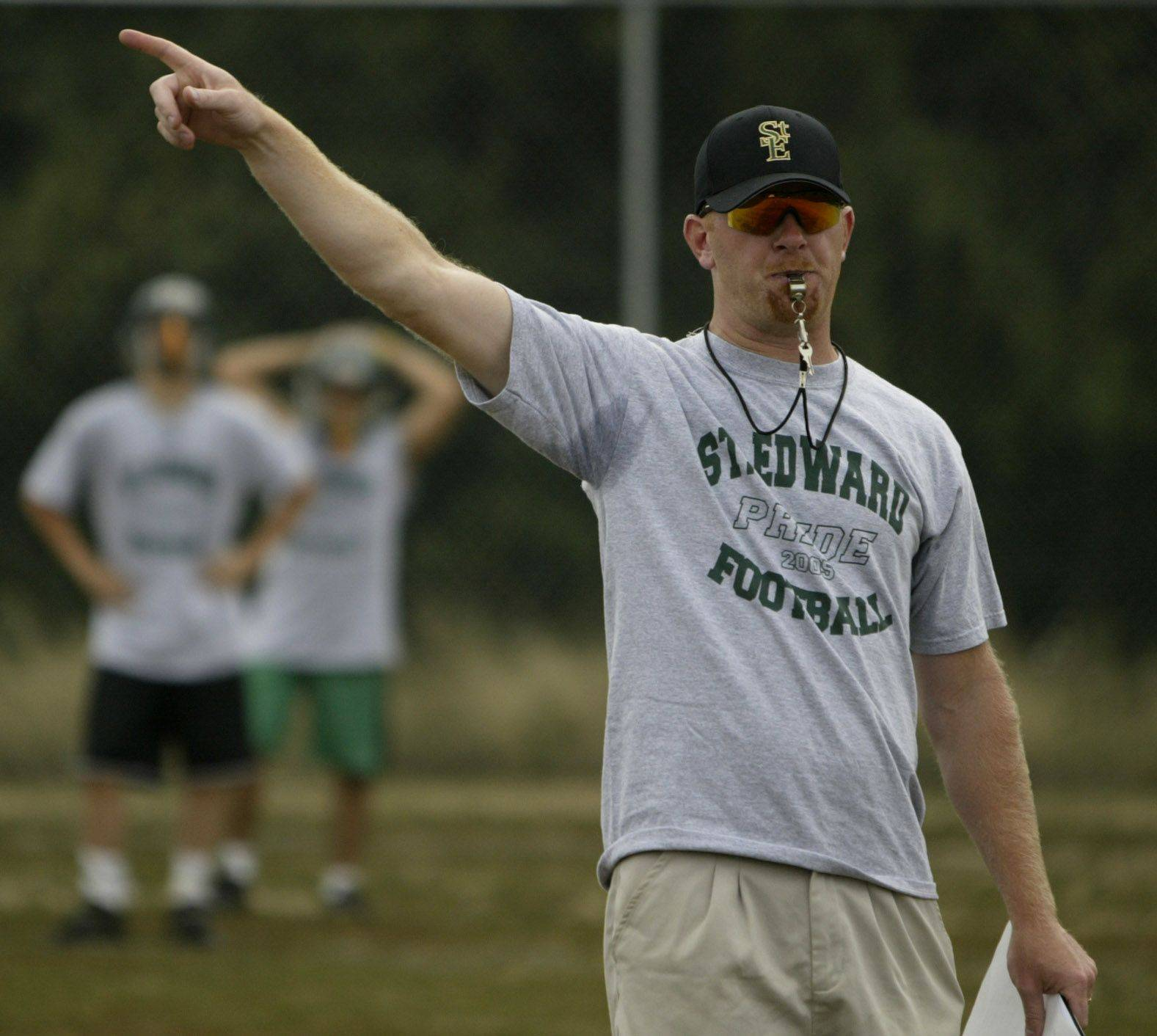 St. Edward's football team won the first playoff game in program history last fall under the direction of fifth-year head coach Mike Rolando.