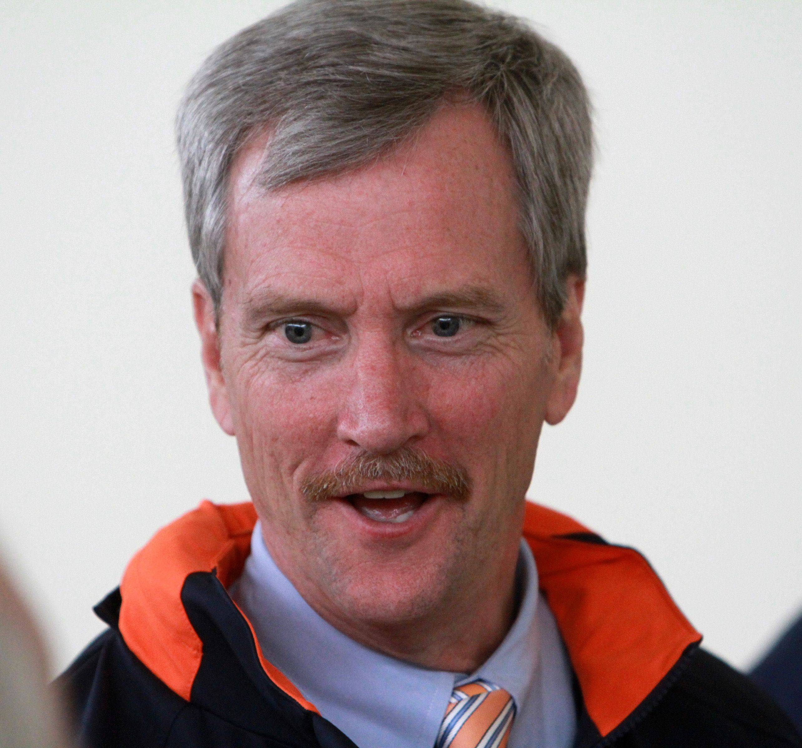 At age 54, George McCaskey is the fourth chairman in the history of the Chicago Bears. His older brother Michael retired from the post last month.