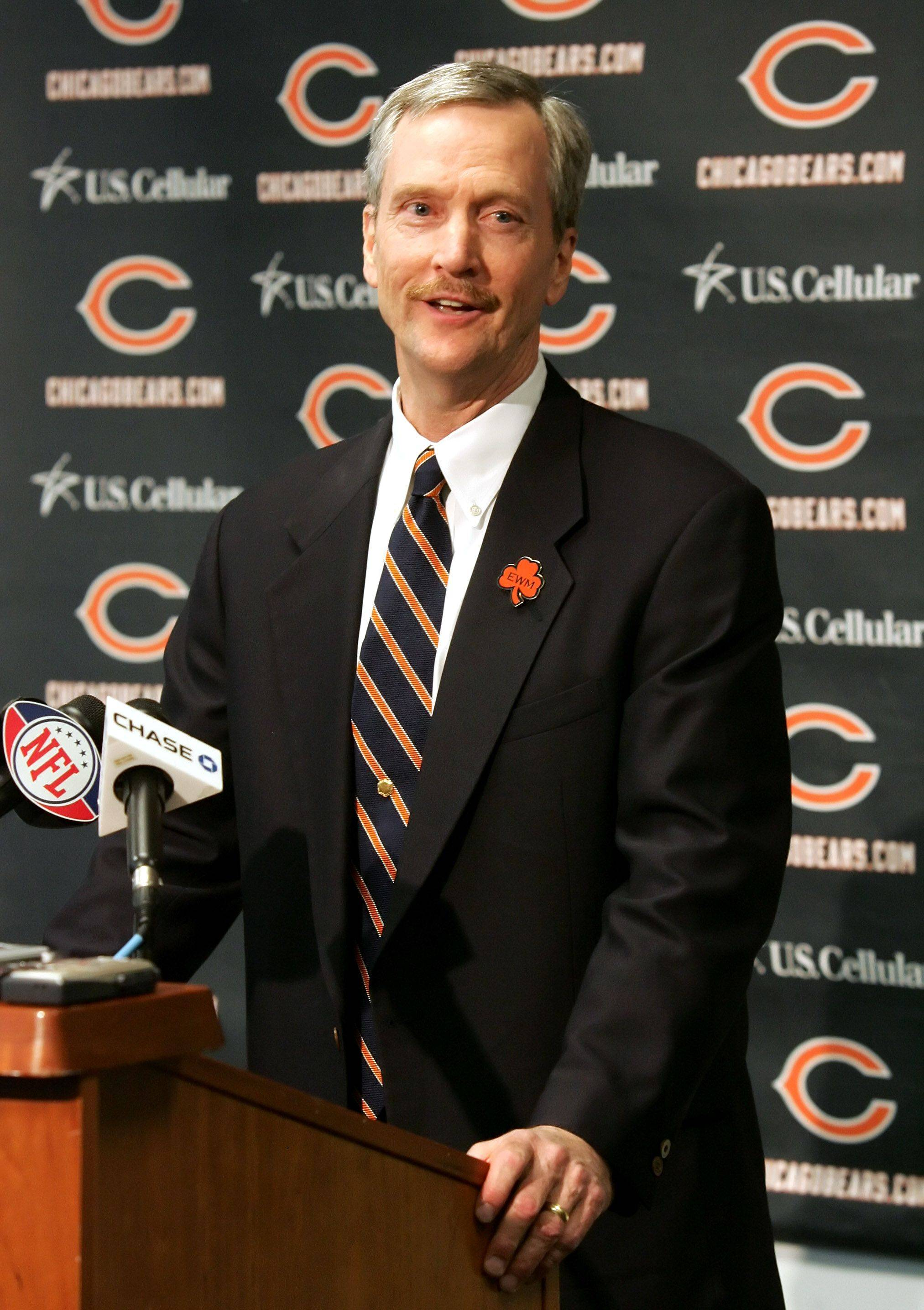 George McCaskey has spent most of his life working in various capacities for the Bears, the team founded by his grandfather. He says he's prepared for his new role as chairman.