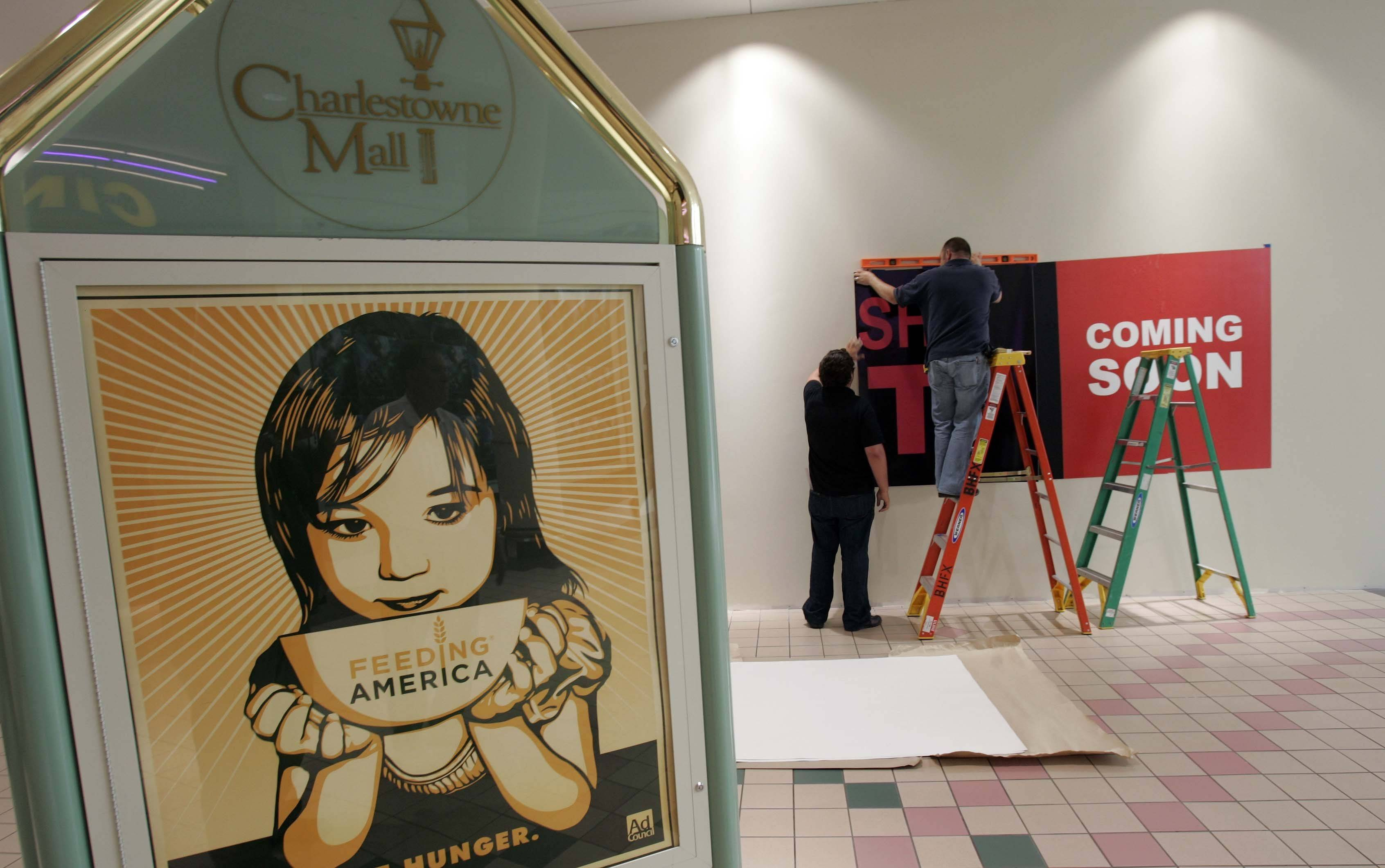 Charlestowne Mall starts mini makeover