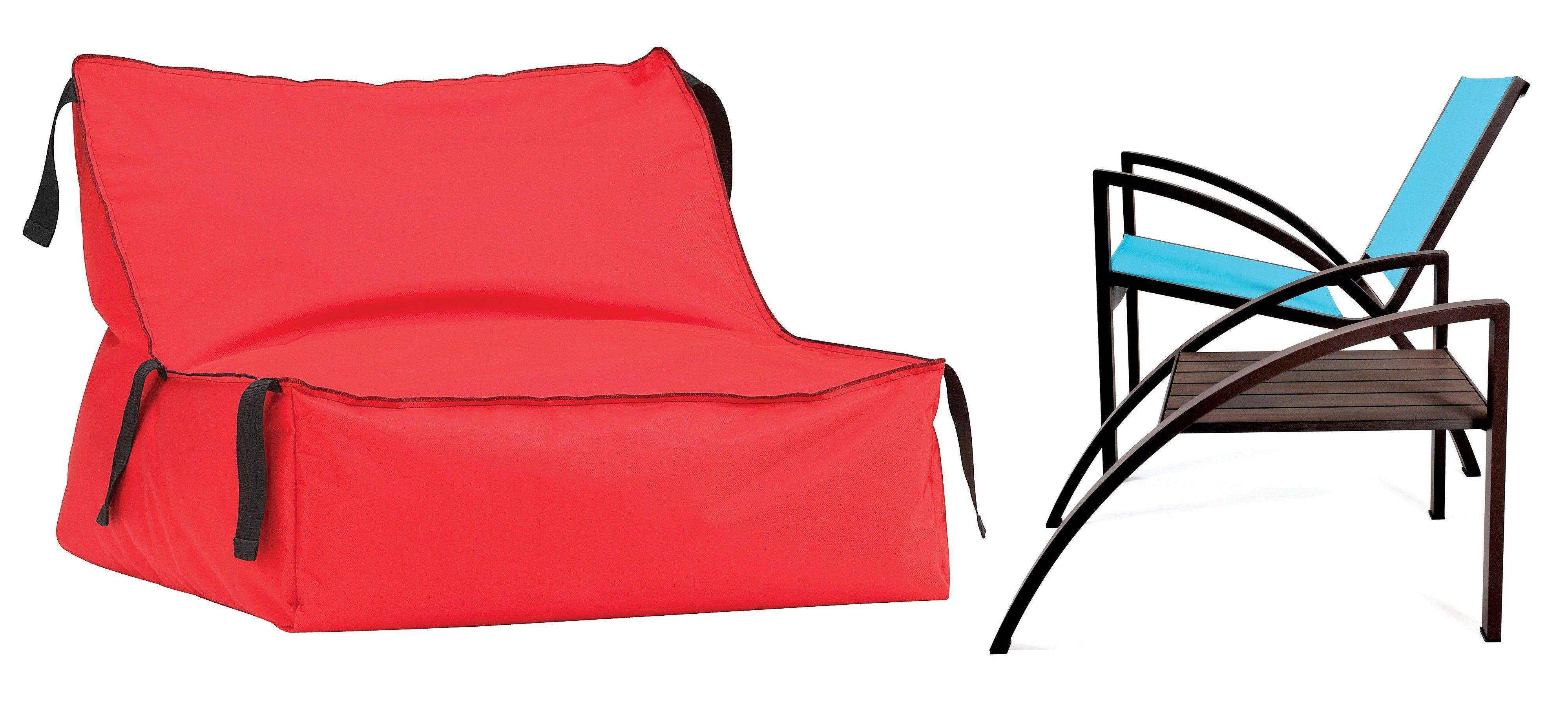 CB2u0027s Outdoor Take On The Beanbag Seat (left, $99) Comes In Waterproof  Polyester