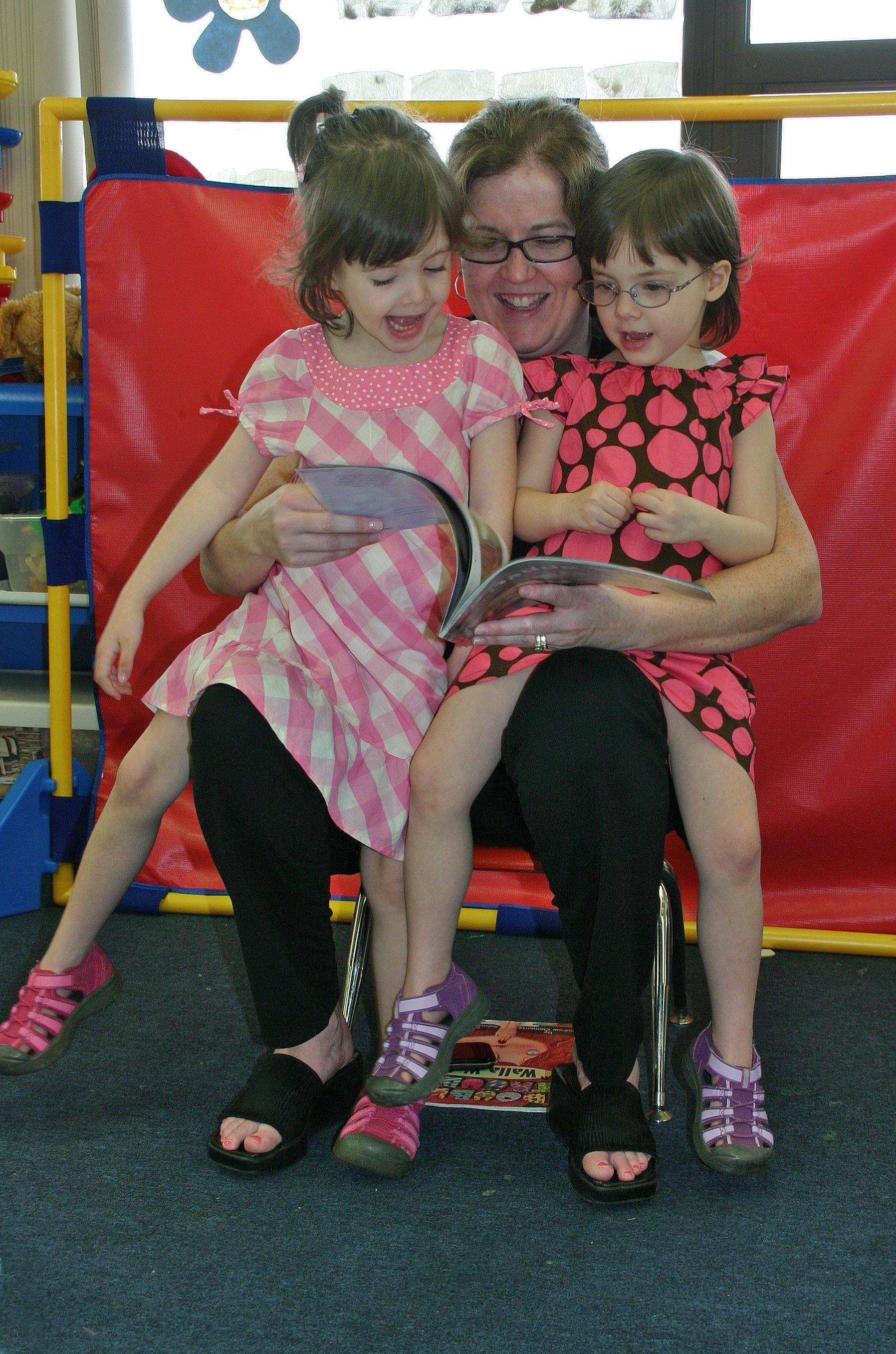 Reading is twice as much fun with twins at the fifth annual Brunch with Books on May 11 and 12 at the Des Plaines Park District.