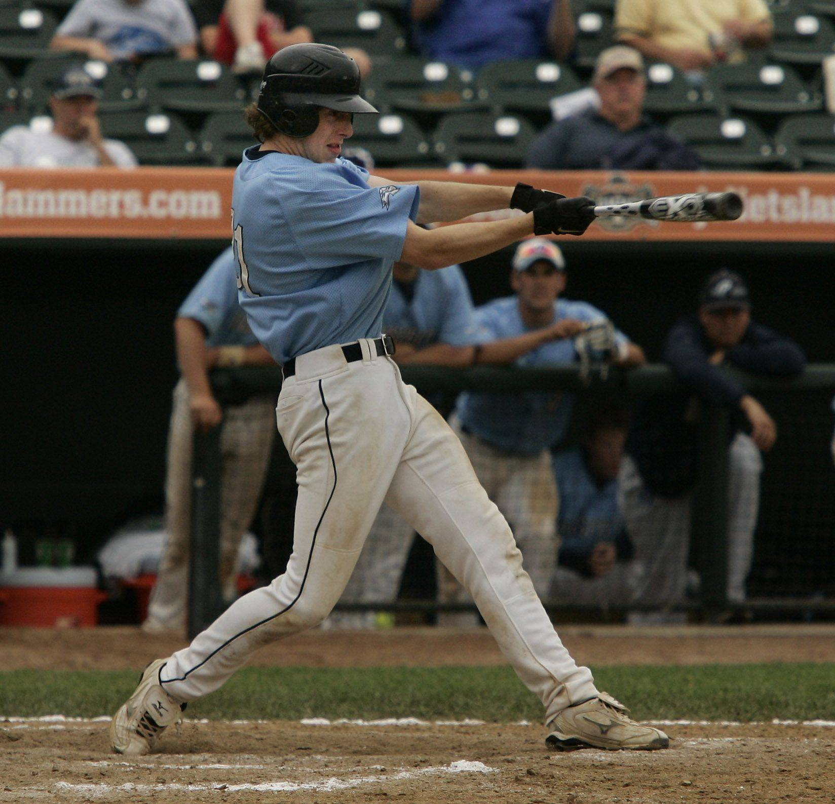Prospect Brian Bauer gets two hits in the game against Mt. Carmel during the boys high school baseball game Saturday in the Class 4A 3rd place game at Silver Cross Field in Joliet. Prospect defeated Mt. Carmel 2-1 to win third place in the state.