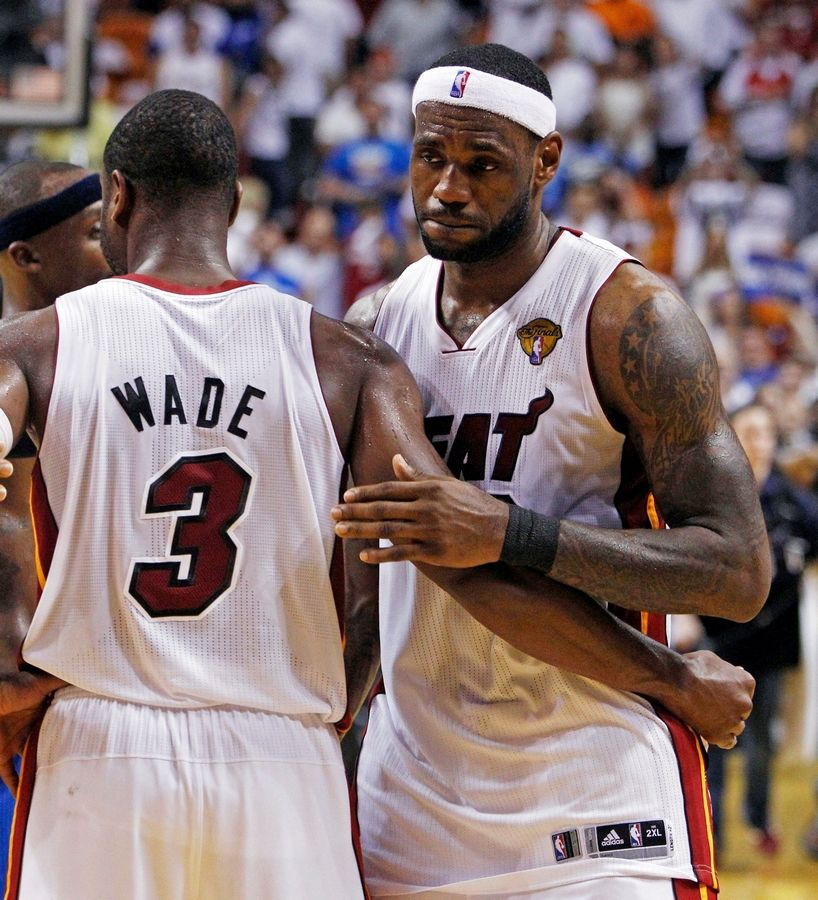 LeBron Slides From Reluctant Superstar To Failed Sidekick