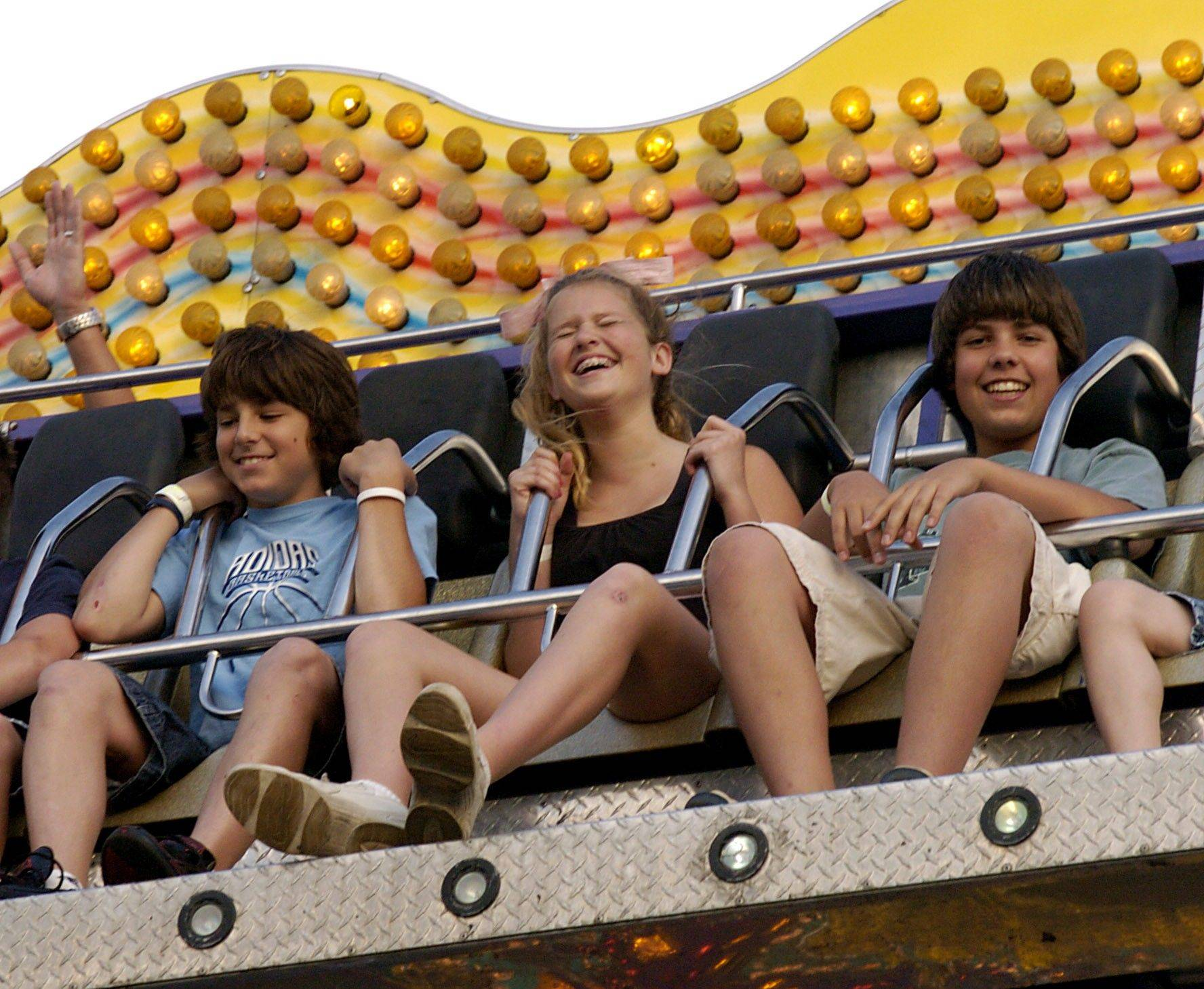 Get ready to blast off at the Rotary Fest carnival.