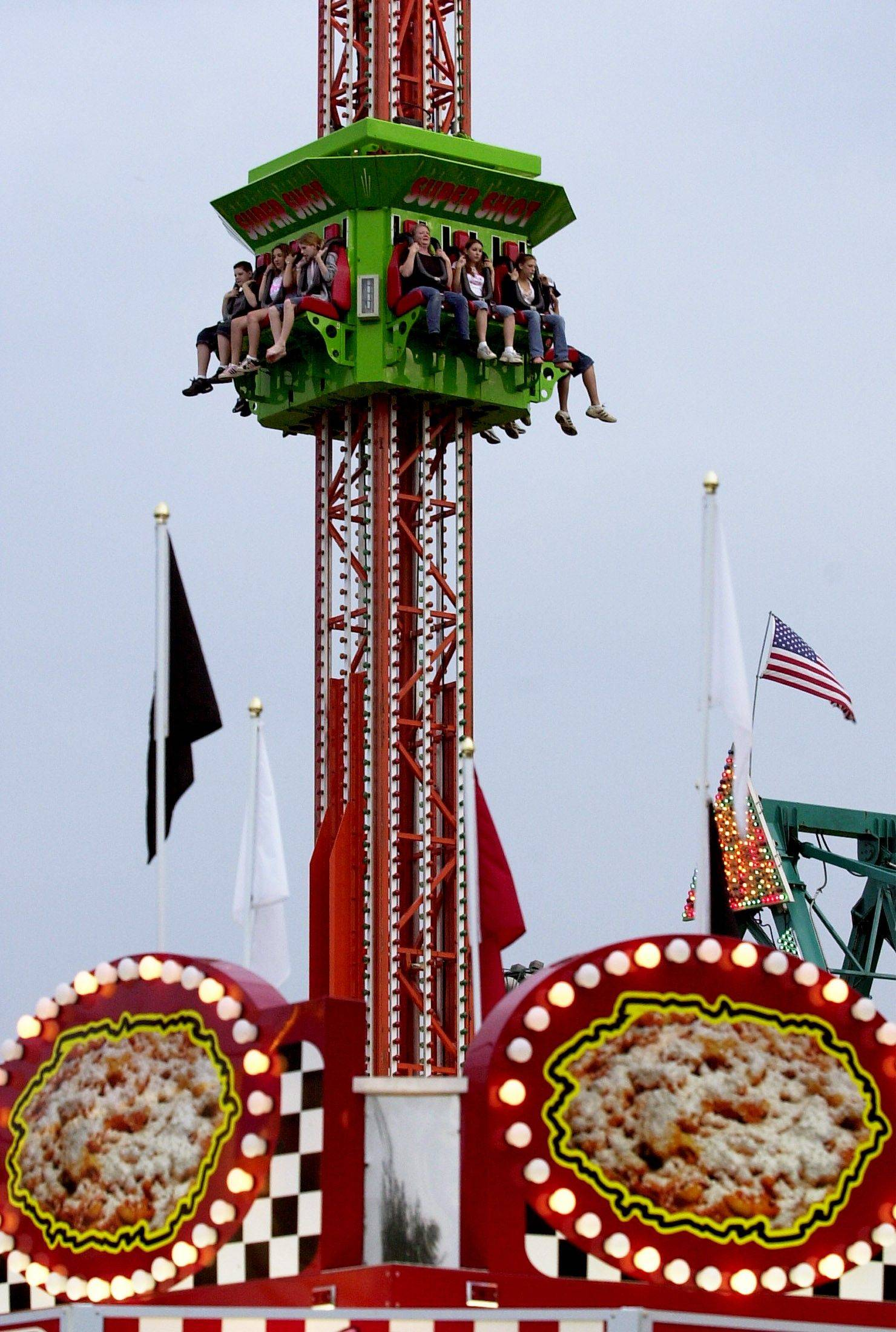 The Rotary Fest carnival will light up the skies for five days.