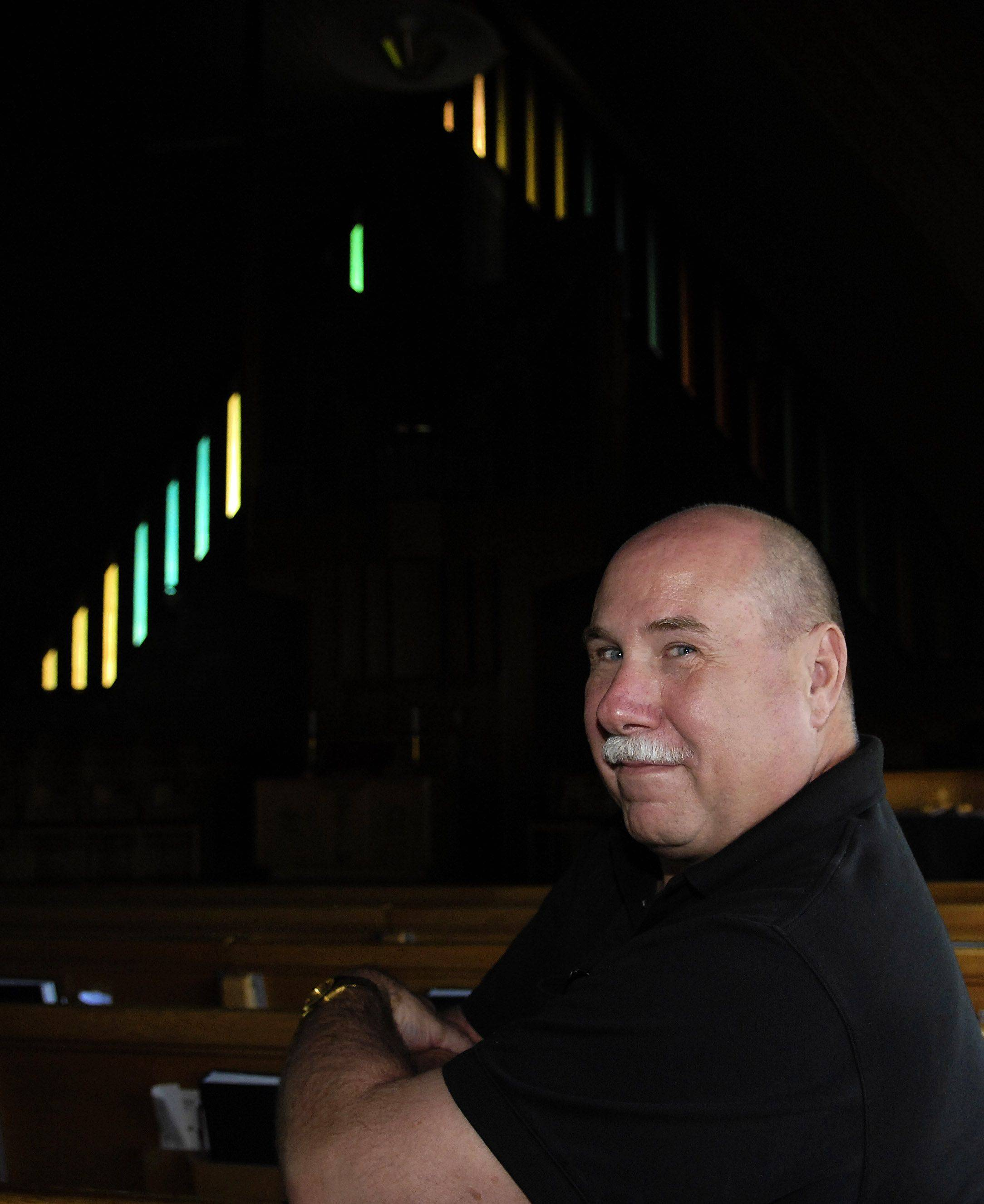Rev. Chuck Legvold of Westminster Presbyterian Church in Aurora says he's against the movement to allow gay ministers in the Presbyterian Church.