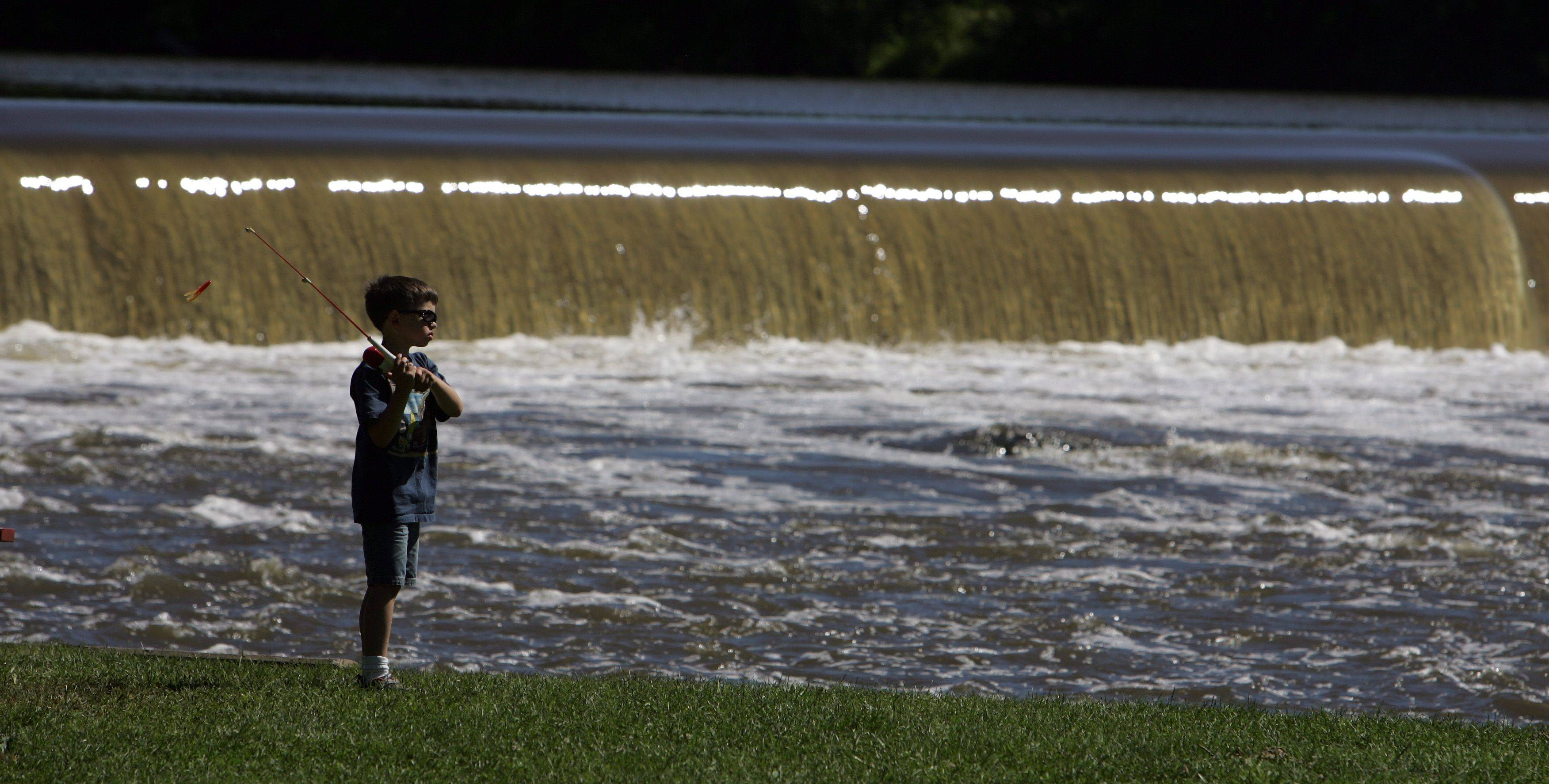 Get ready to cast off during the Tuna Kahuna, a free fishing contest for kids 15 and younger, on Saturday, June 18, at Panton Mill Park in South Elgin.
