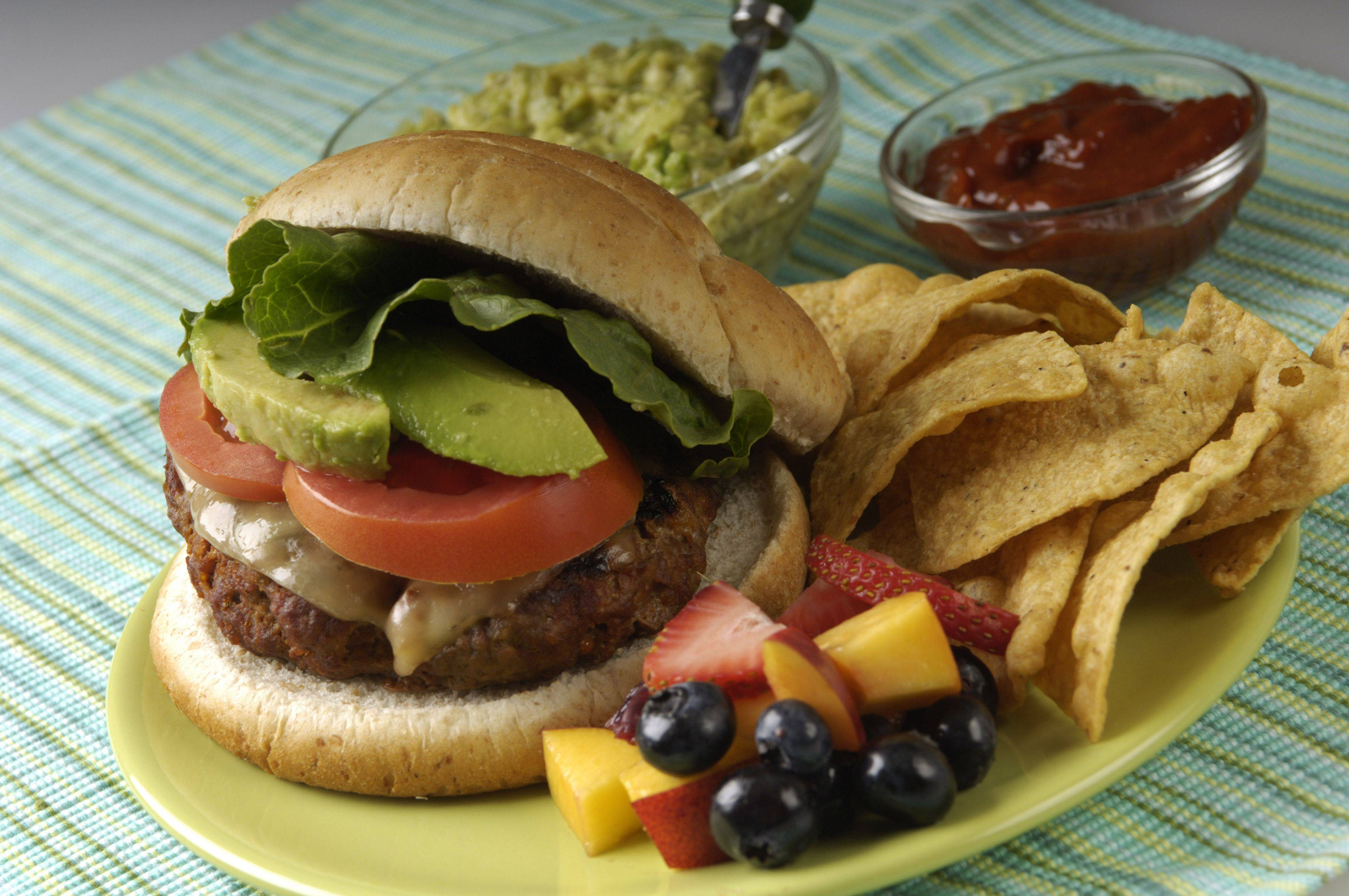 JOE LEWNARDTop your Nacho Burger with guacamole or spicy chipotle ketchup.