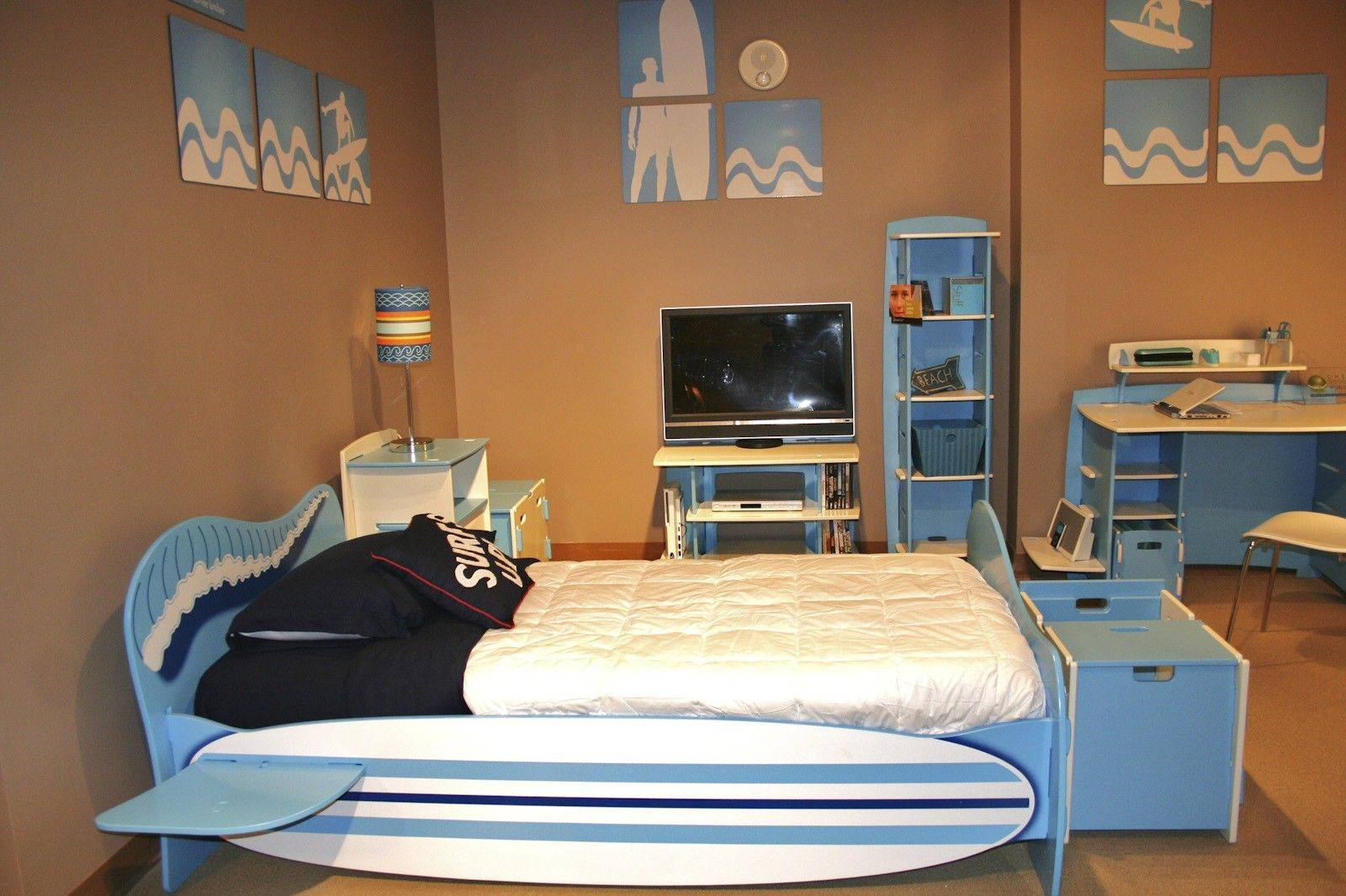 The Legare Surfer Bedroom And Bed Was One Of The Items On Display Recently  At The