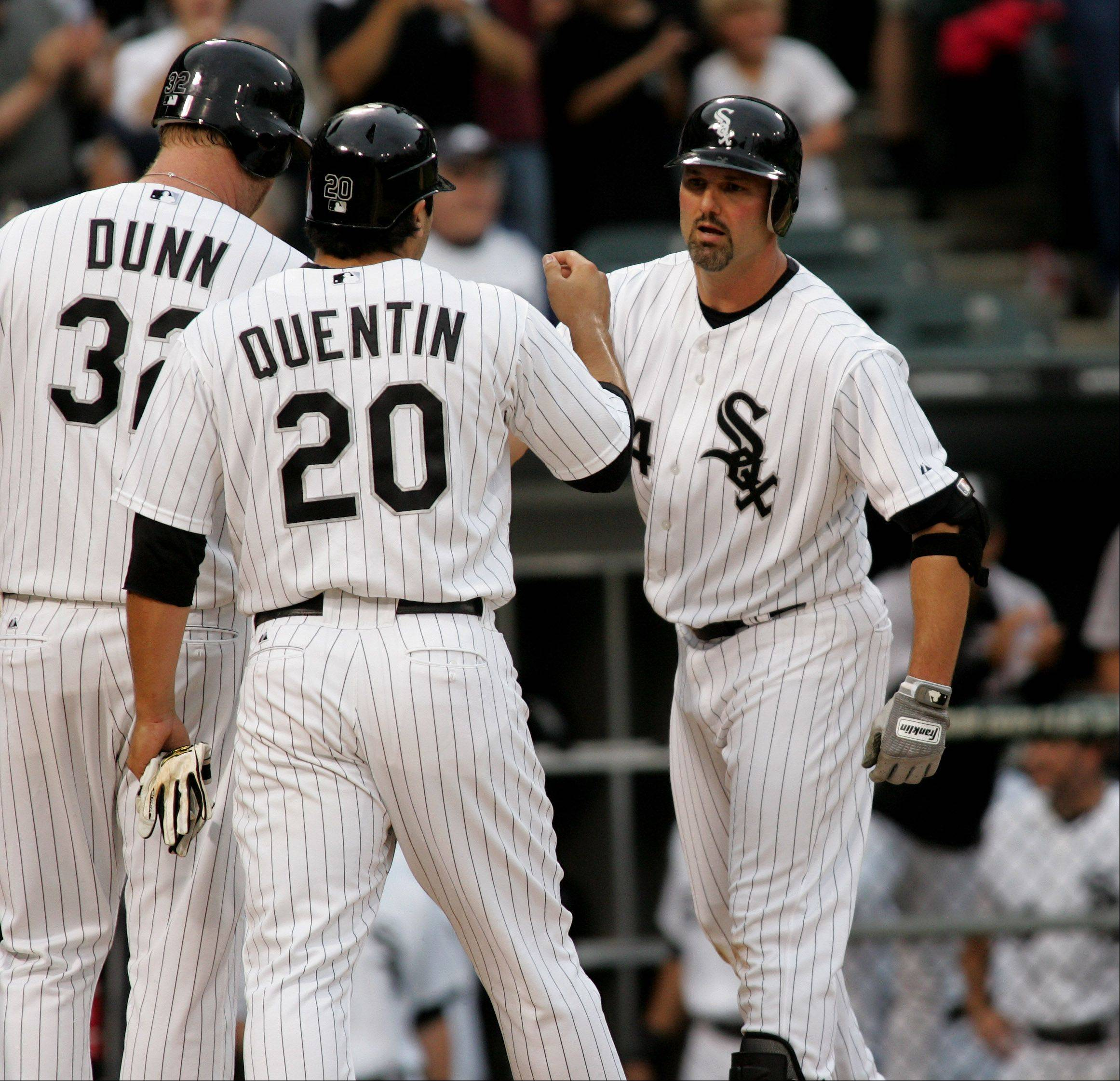 Paul Konerko's first inning home run.
