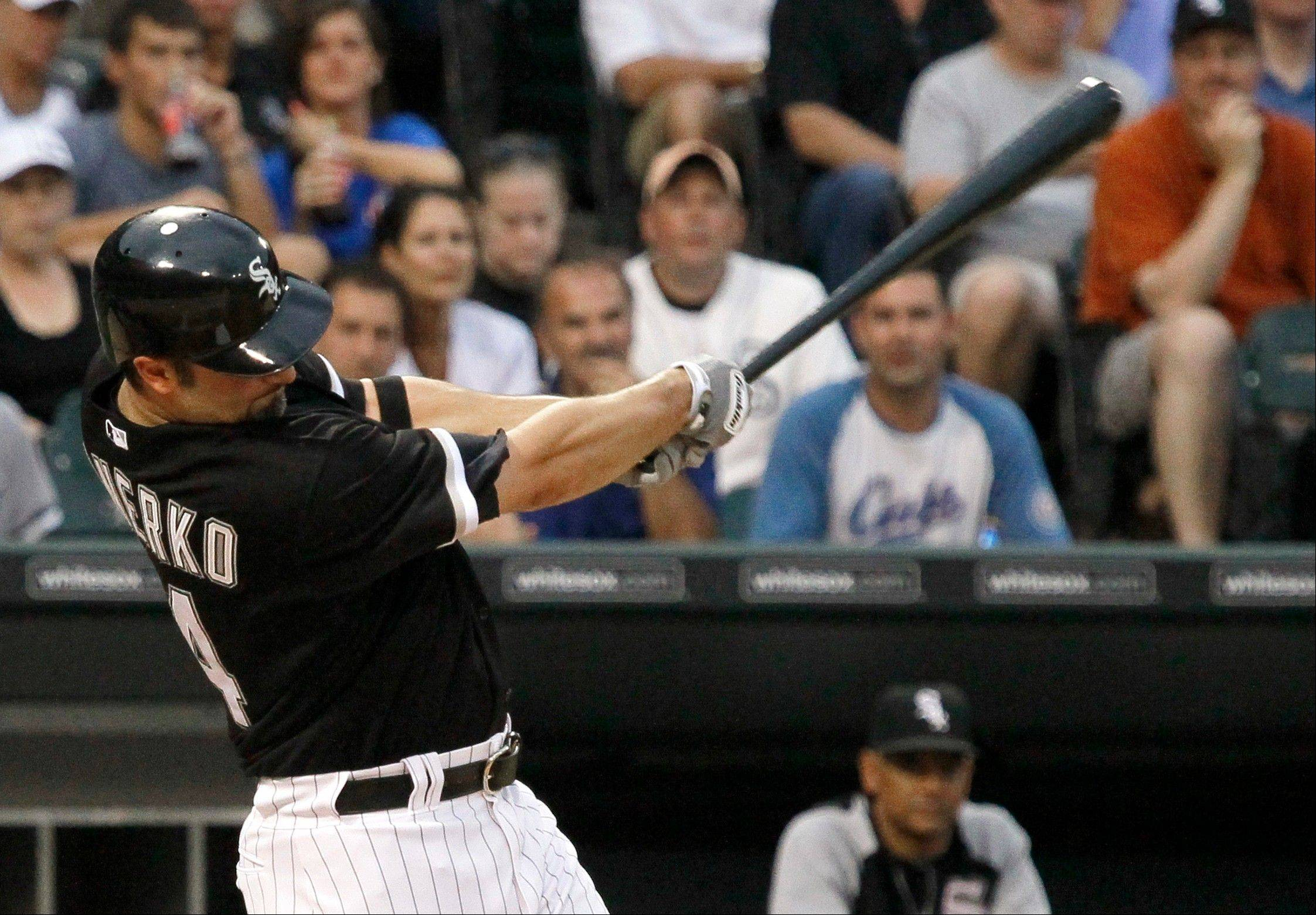 Konerko politely declines MVP talk