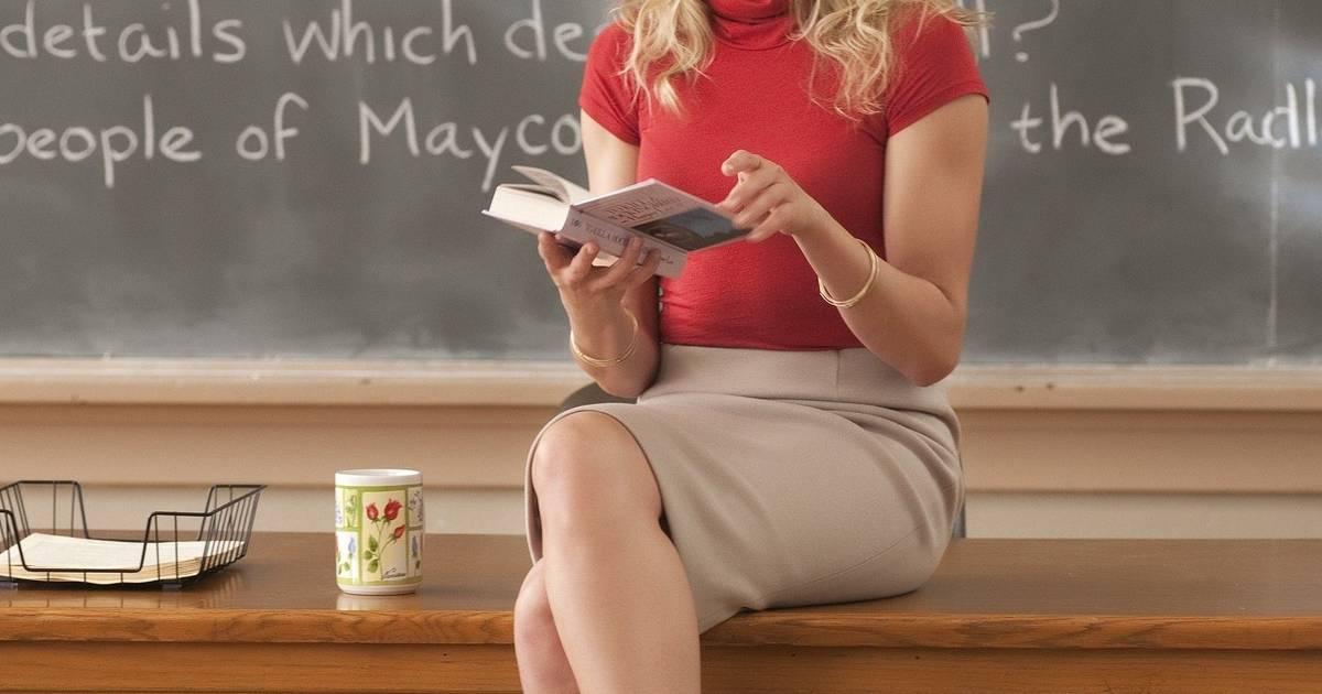 American teacher and girl movie
