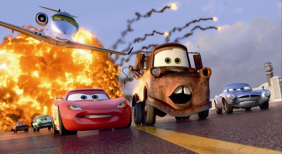 Cars 2 Moves Along Despite Underpowered Dramatic Motor