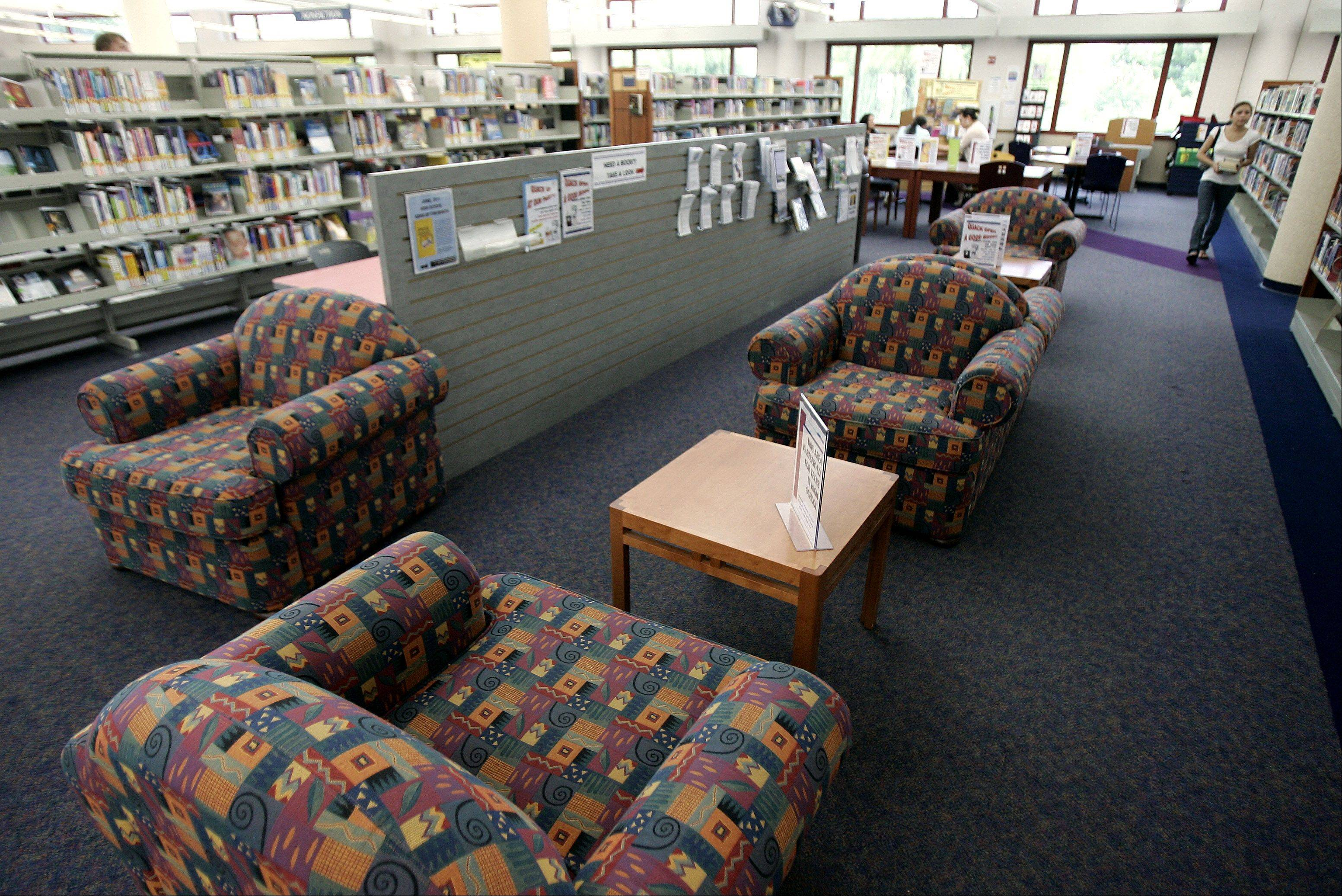 The expanded young adult area is part of the changes inside Fremont Public Library in Mundelein.