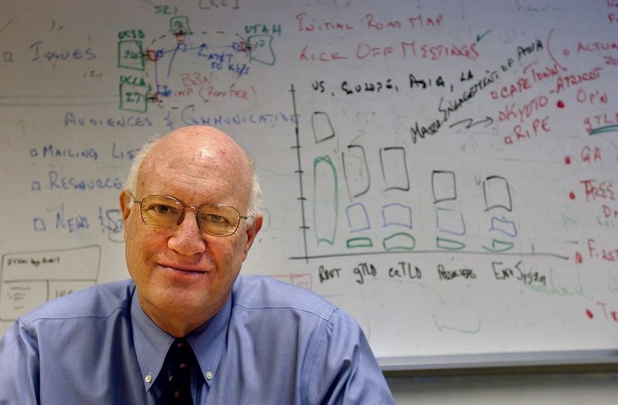 Internet address group names Steve Crocker chair