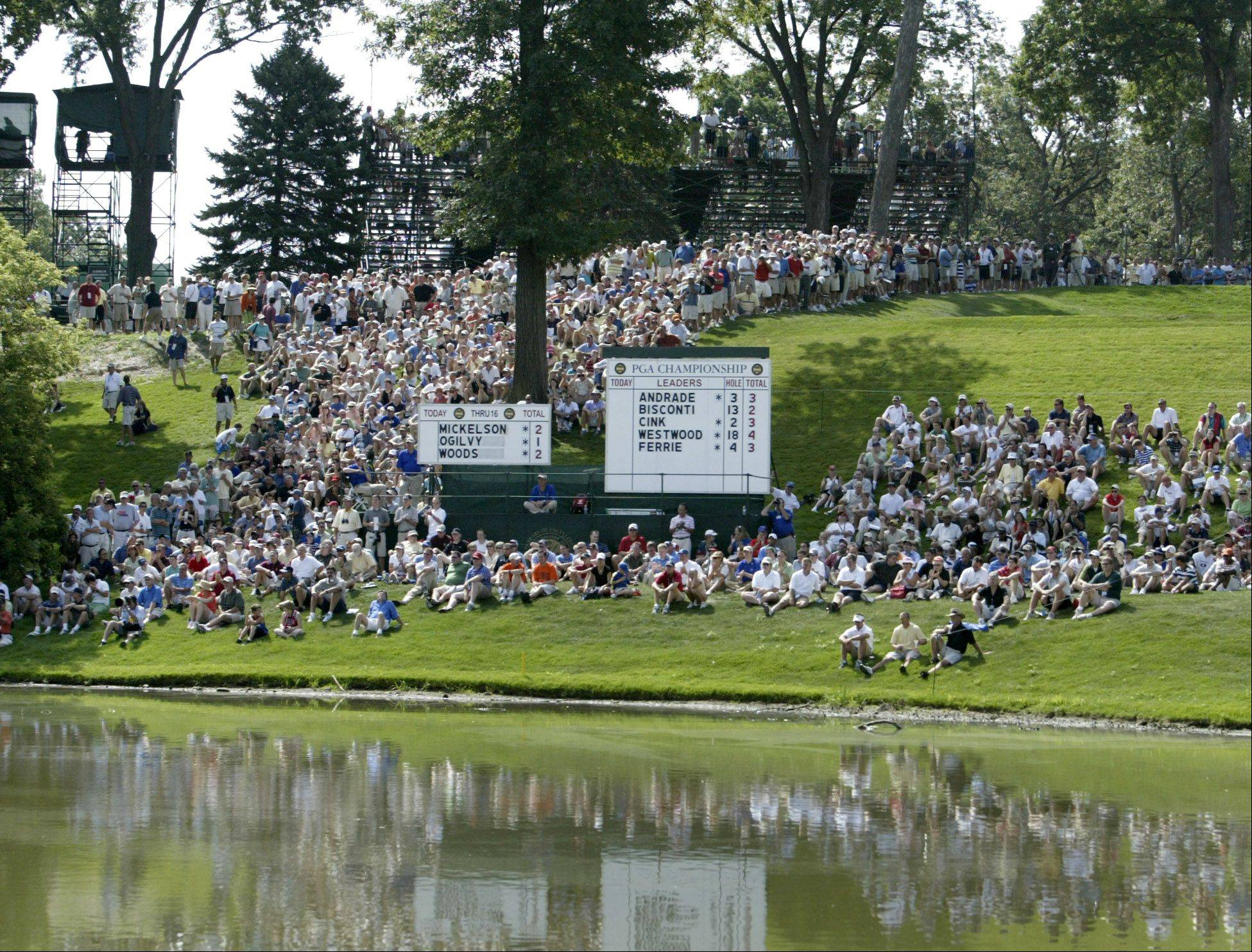 Crowds will pack Medinah Country Club for thethe 2012 Ryder Cup as they did for the PGA tournament in 2006. Tickets will be hard to come by.