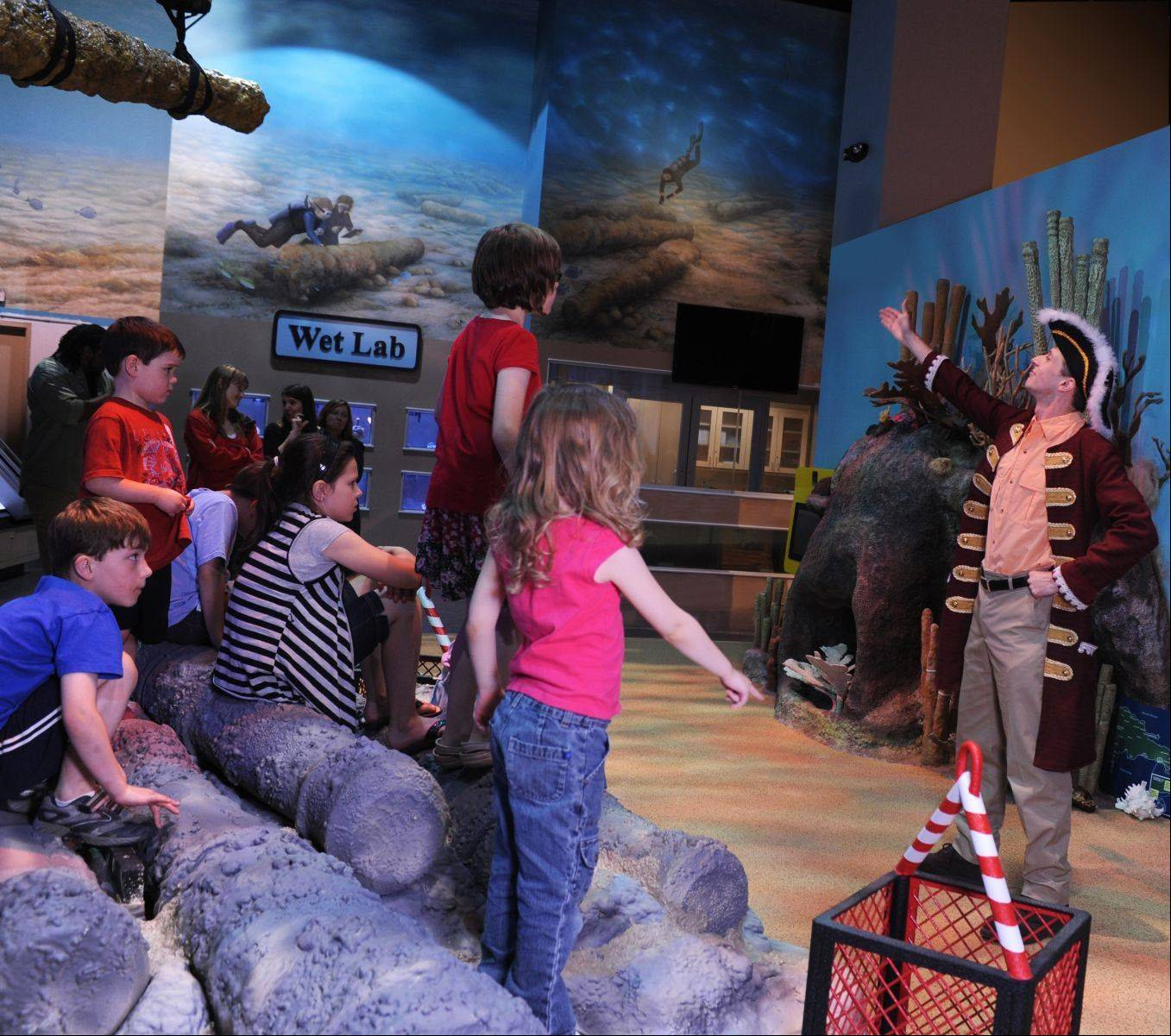 "The Children's Museum of Indianapolis' newest permanent exhibit, ""National Geographic Treasures of the Earth,"" features exhibits on ancient Egypt, Chinese warriors and the Captain Kidd shipwreck."