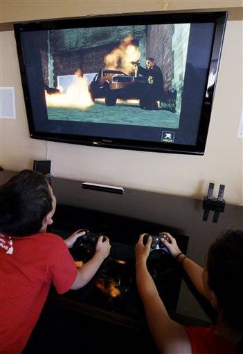 "The Supreme Court ruled Monday that it is unconstitutional to bar children from buying or renting violent video games, saying government doesn't have the authority to ""restrict the ideas to which children may be exposed"" despite complaints that the popular and fast-changing technology allows the young to simulate acts of brutality."