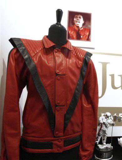 "A commodities trader from Austin, Texas, has bought the worn and signed ""Thriller"" Jacket that belonged to Michael Jackson at an auction Sunday in Beverly Hills, Calif."