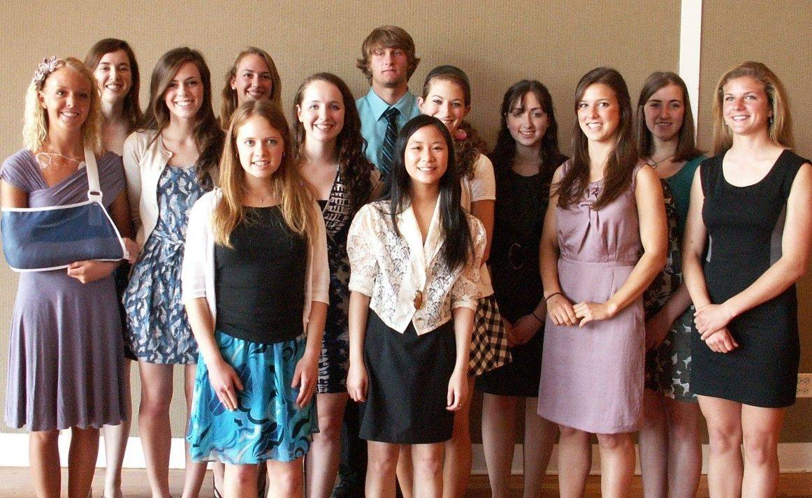 The 2011 Arlington Heights Council of PTAs scholarship recipients.