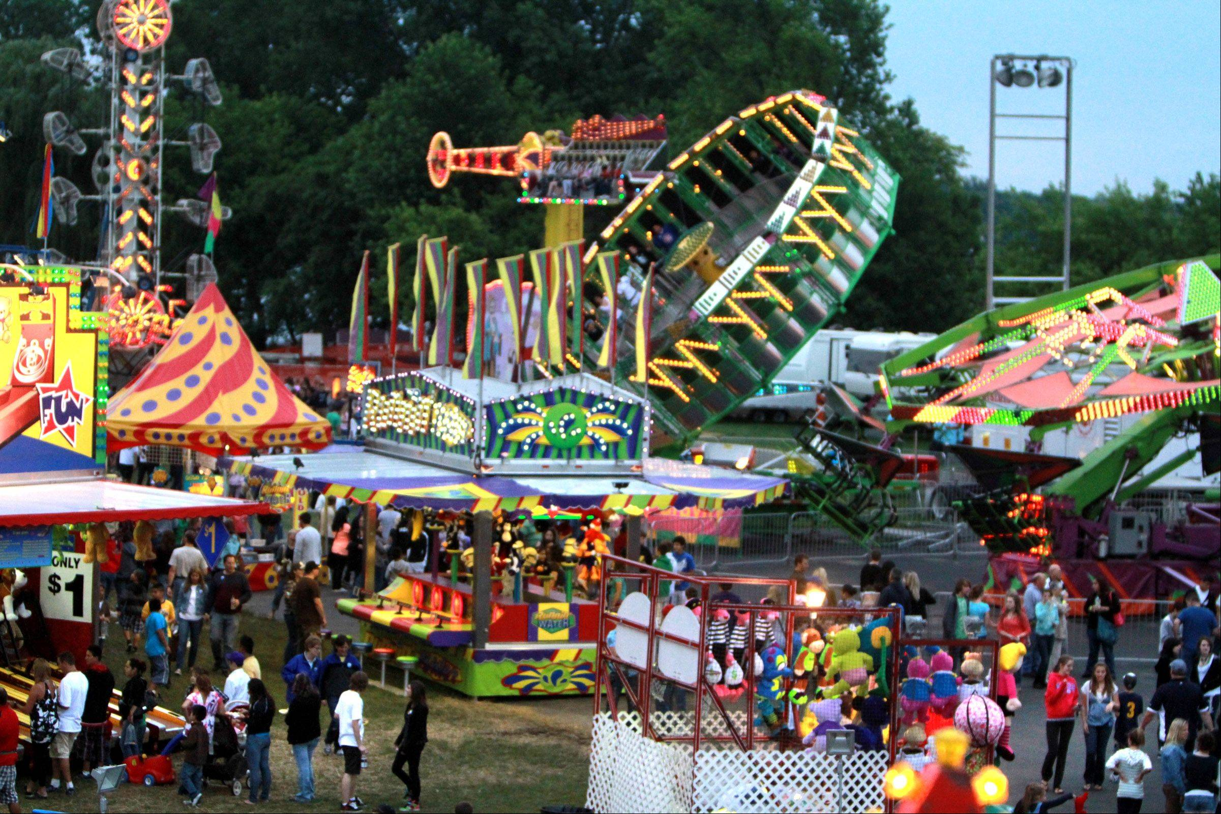 Wauconda Fest in Cook Park on Friday.