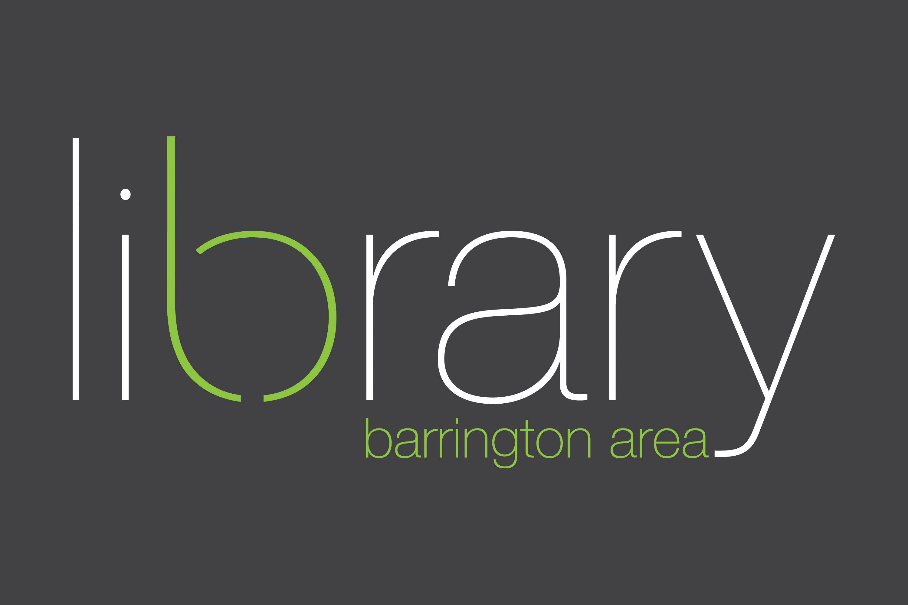 The new Barrington Library logo.