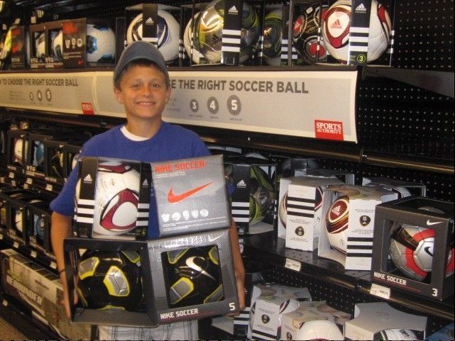 Alex Gruber is an eighth-grader at Haines Middle School in St. Charles with an interest in helping others. His latest outreach is the purchase of four soccer balls for short-term missionary friends Ron and Becky Hubbard to give to youth in Uganda.