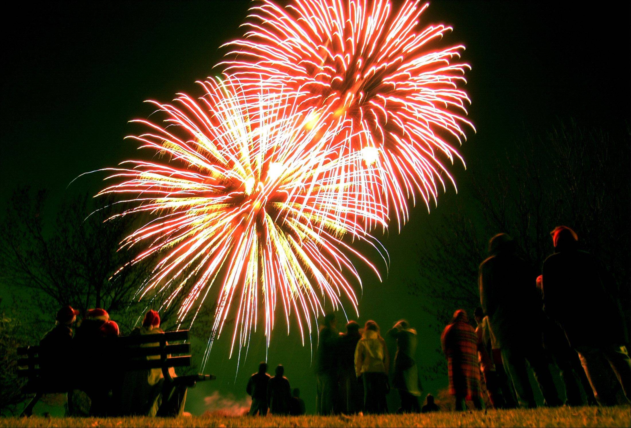 See Vernon Hills' Fourth of July fireworks over Century Park on Monday, July 4.