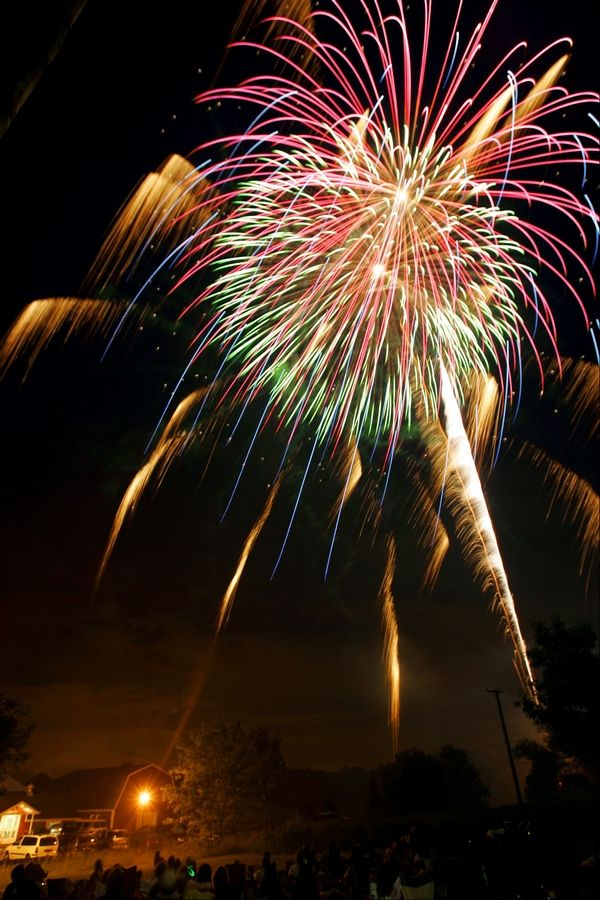 Fourth of July fireworks will explode over Sleepy Hollow's Sabatino Park at 9 p.m. Monday.
