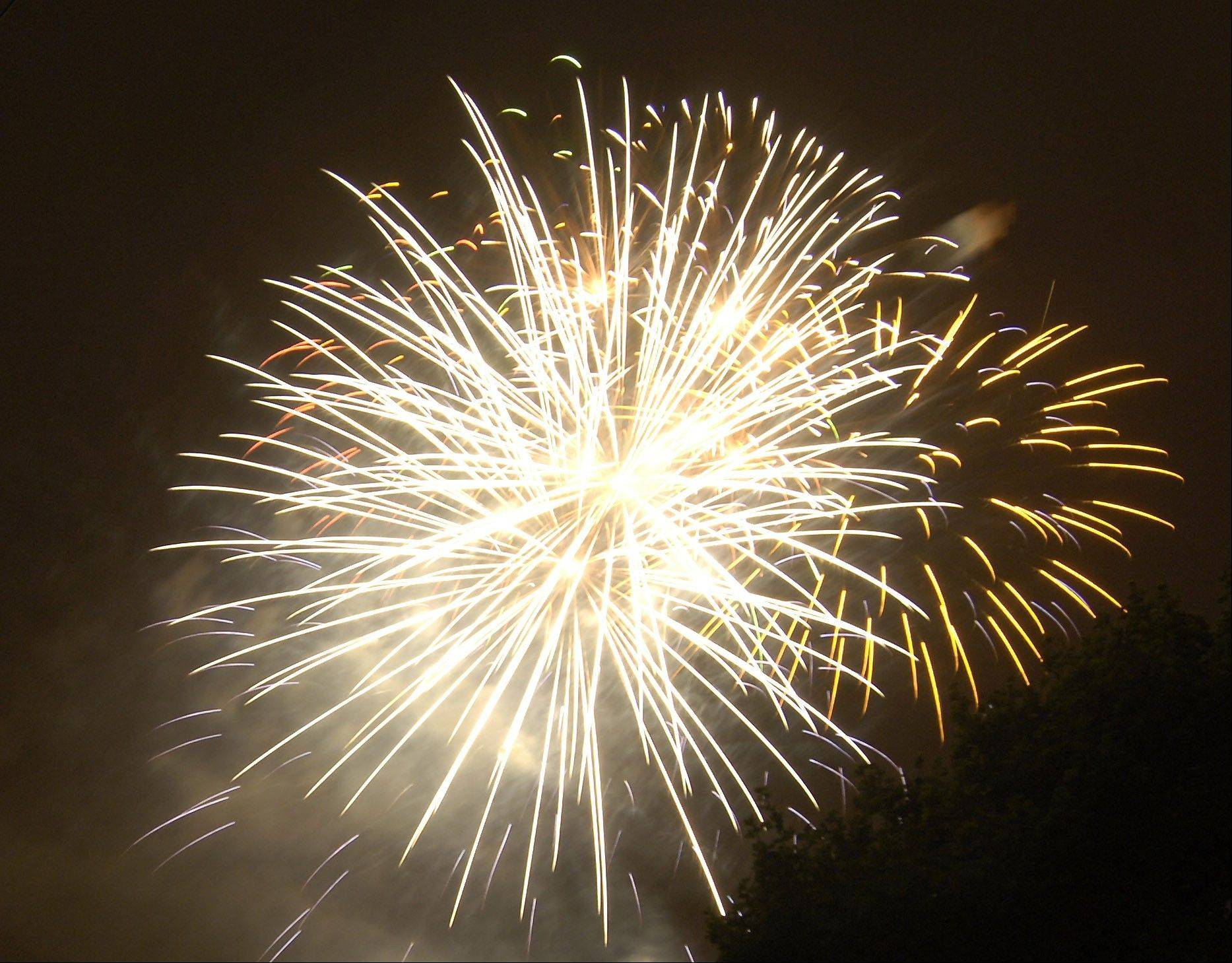 Arlington Park will shoot off fireworks on Saturday, July 2.