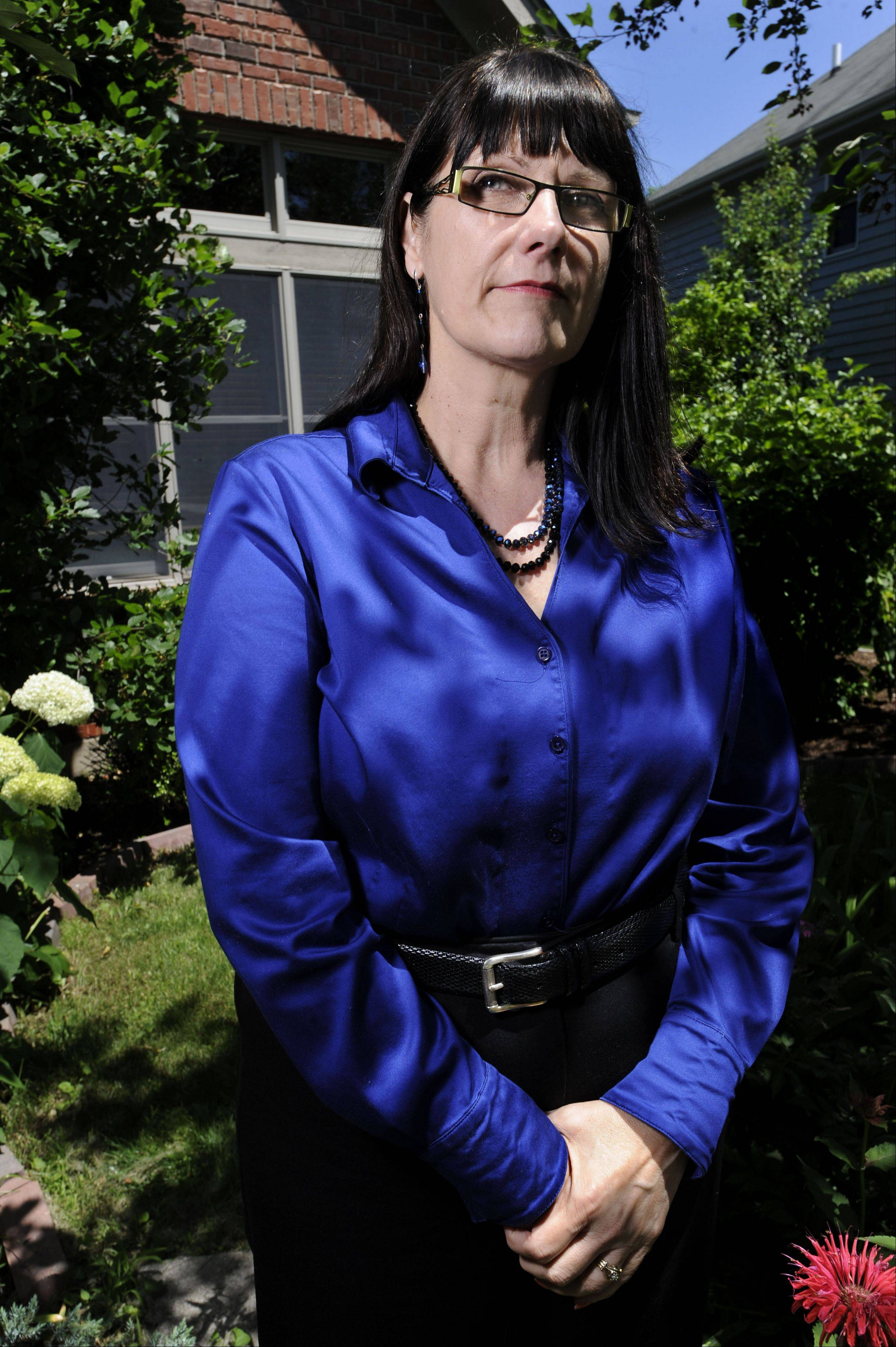 Connie Wilson, jury forewoman in the retrial of former Gov. Rod Blagojevich, at her home in Naperville on Tuesday, the day after Blagojevich was found guilty on 17 of 20 charges.