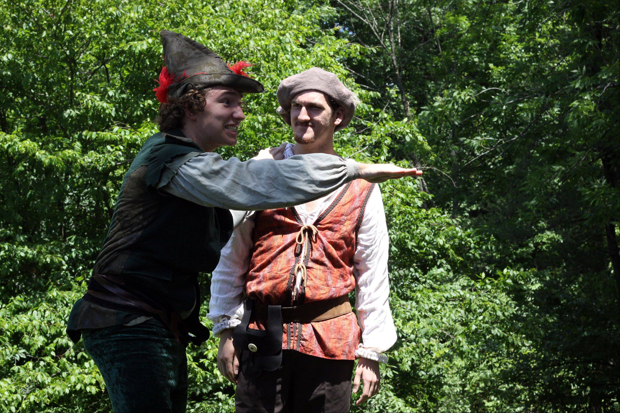 Theatre-Hikes productions will return to Morton Arboretum Saturday.
