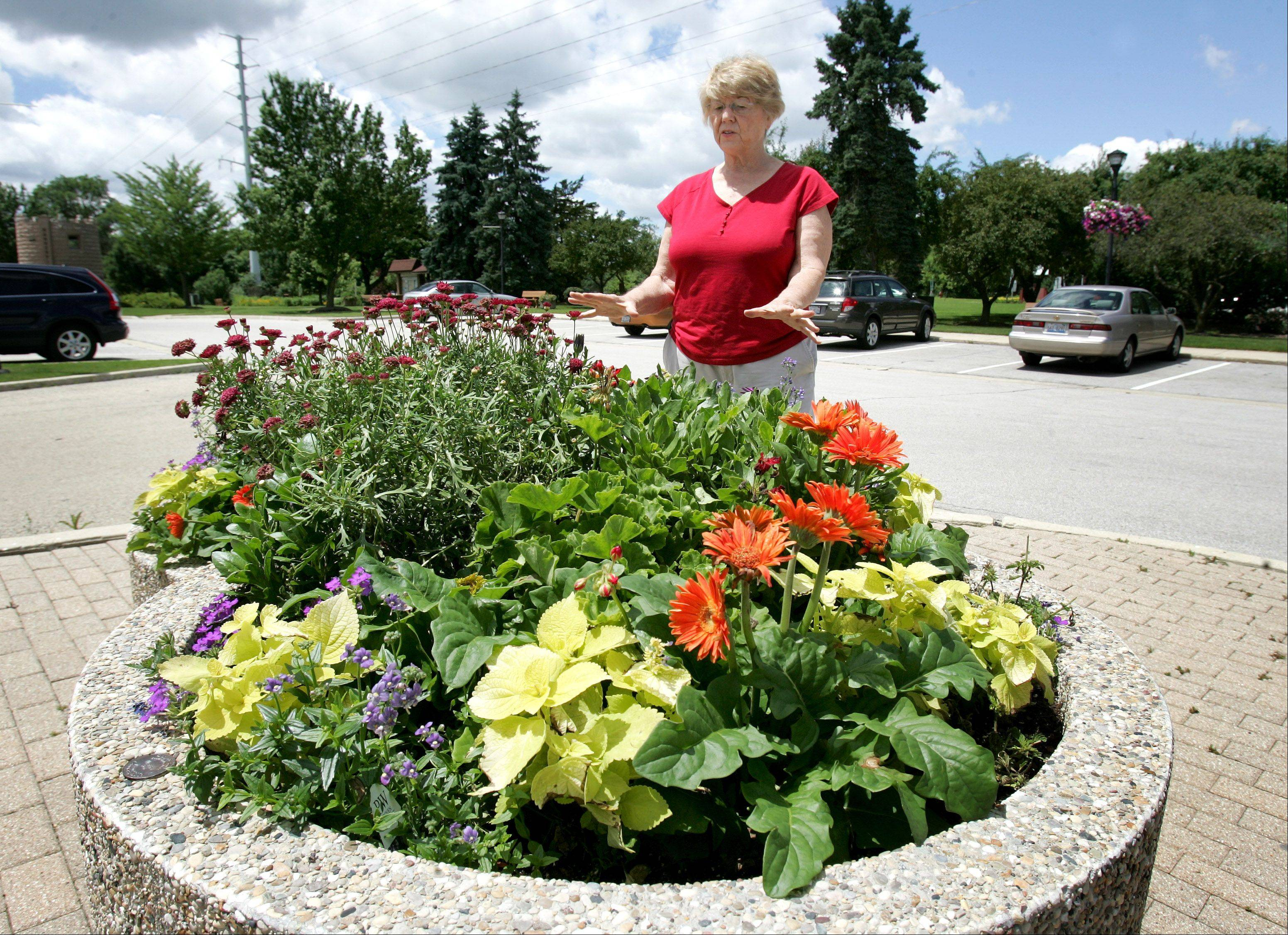 Dorothy Deer, president of Warrenville in Bloom, says she's concerned about a proposal to suspend the city's hotel-motel grant program, which provided her group with $21,000 for citywide beatification efforts.