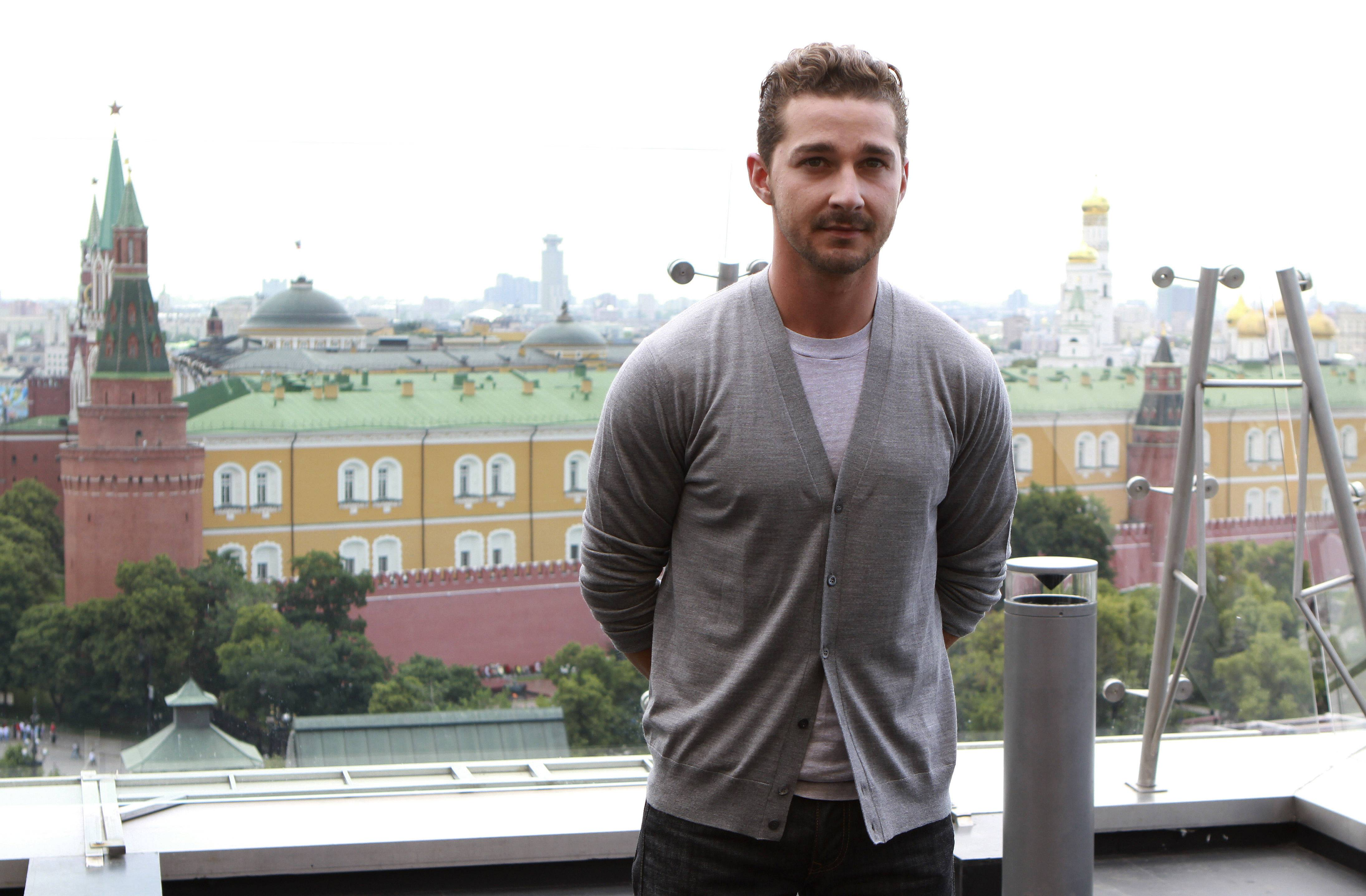 "Shia LaBeouf, on a press tour in Moscow for ""Transformers: Dark of the Moon,"" said he ""doesn't have anything new to contribute"" to the franchise."