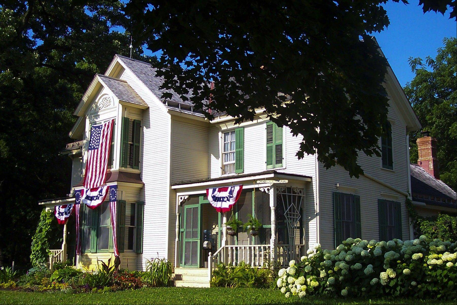 Visitors to Kline Creek Farm's Fourth of July Celebration will be able to tour the property's 1890s farmhouse, chicken coop and other historic facilities. Tours will begin each hour on the hour.
