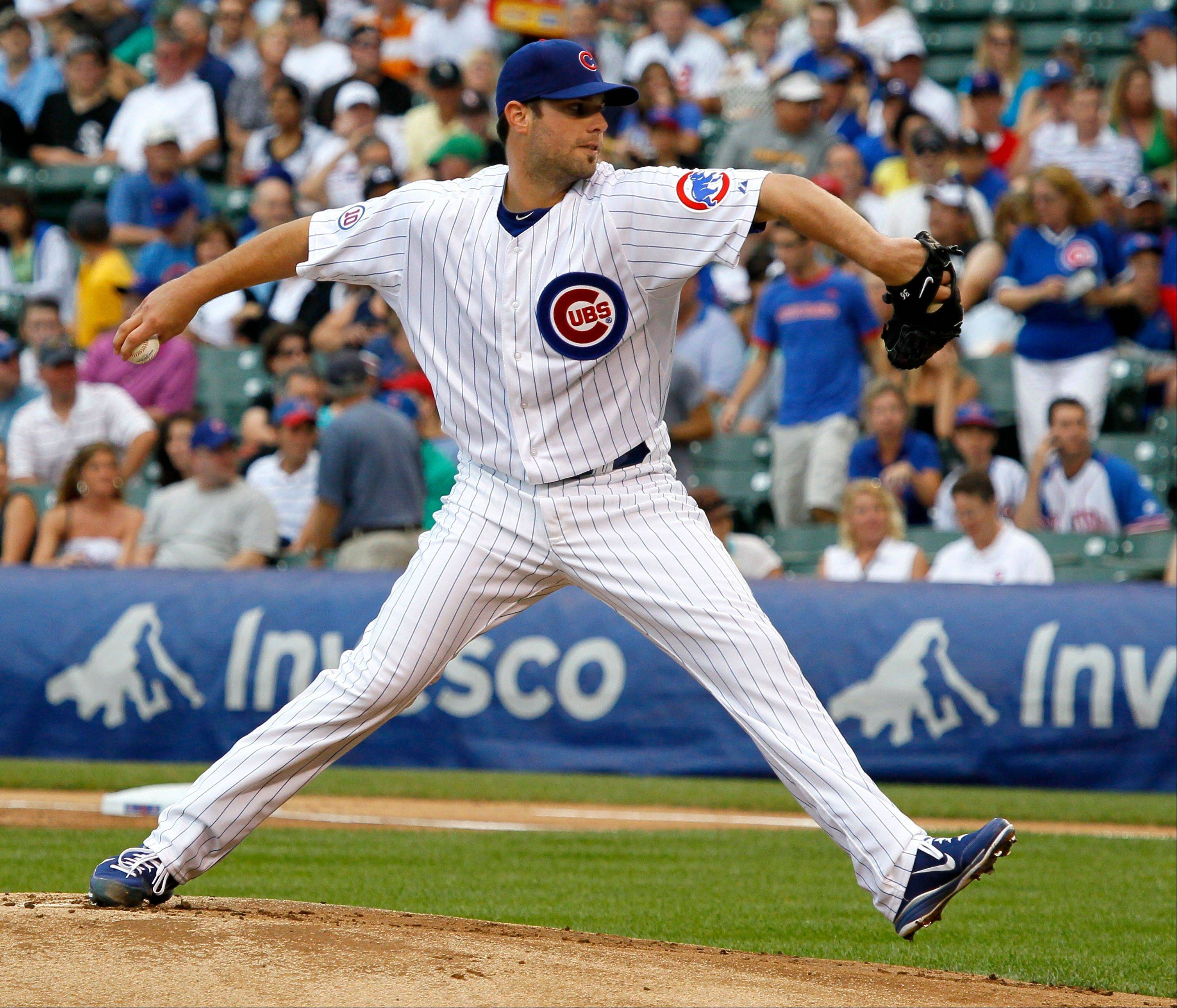 Cubs starting pitcher Randy Wells took the loss Friday against the White Sox. Manager Mike Quade took the blame for leaving Wells in too long Friday. Wells gave up 4 runs in the seventh inning.