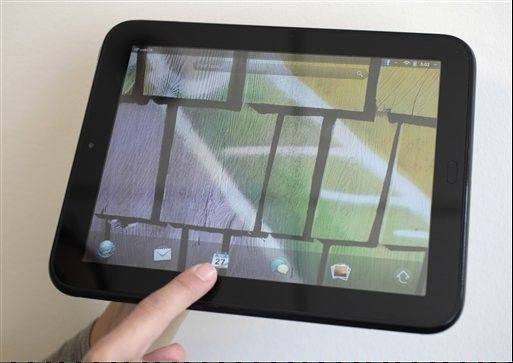 The HP TouchPad is good for surfing the Web, in part because it supports Flash video content, which the iPad does not.