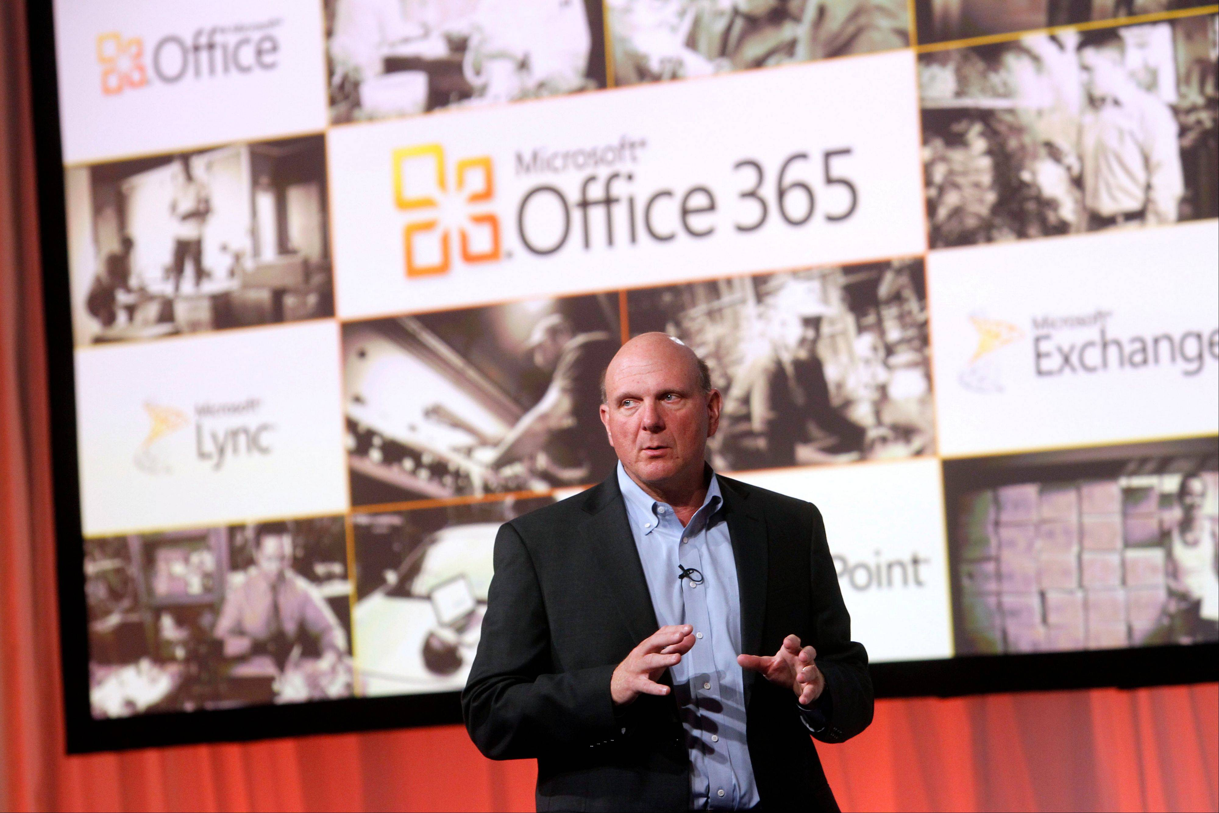 Microsoft, CEO Steve Ballmer announces the launch of Microsoft Office 365, which is designed to prevent businesses from migrating to Google.