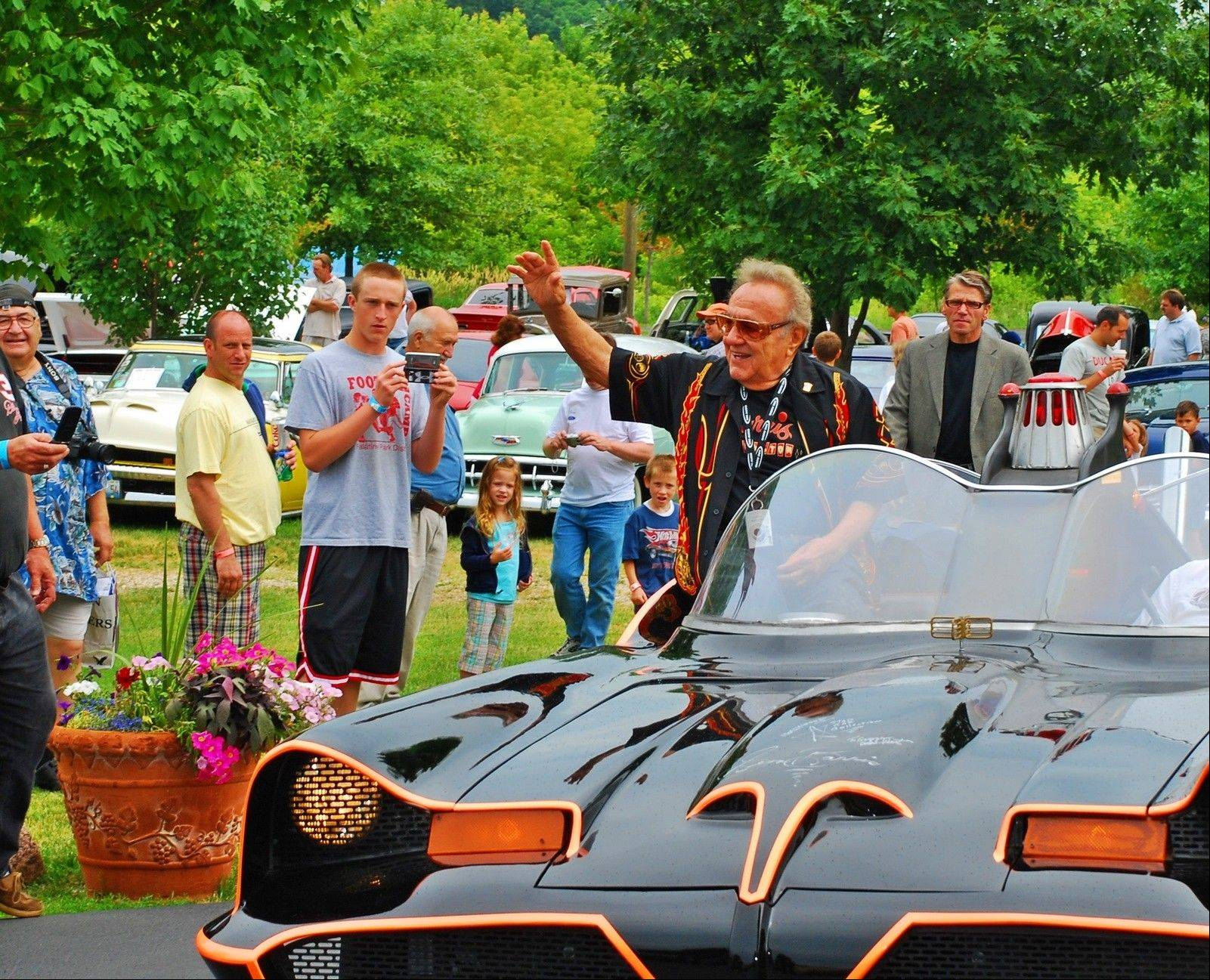 Auto designer George Barris headlines the George Barris Charity Car Show and Festival at the Volo Auto Museum Sunday.