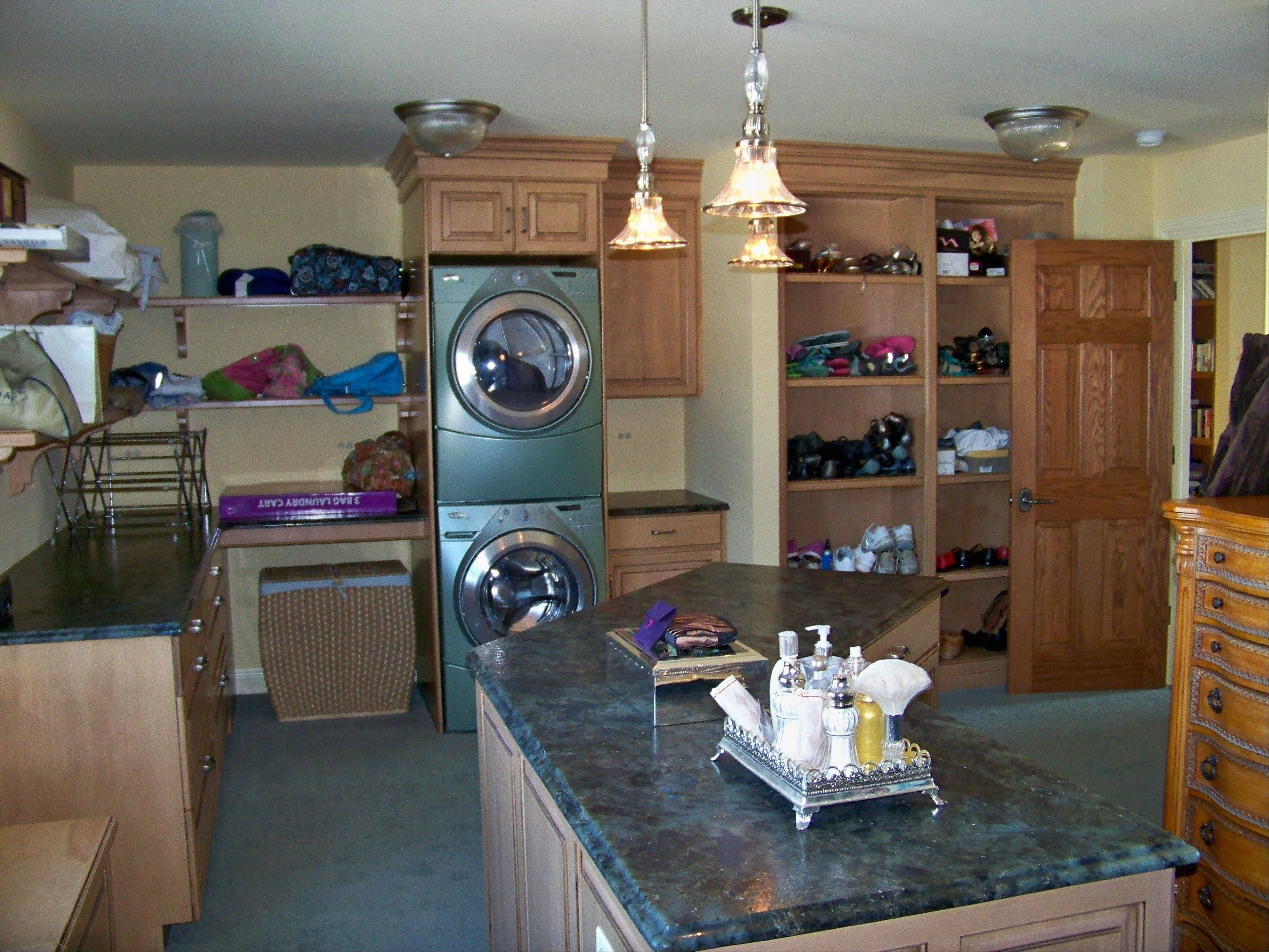 Some of McDowell Inc.'s projects and home additions for baby boomers have involved moving laundry rooms out of basements, or creating first-floor master suites.