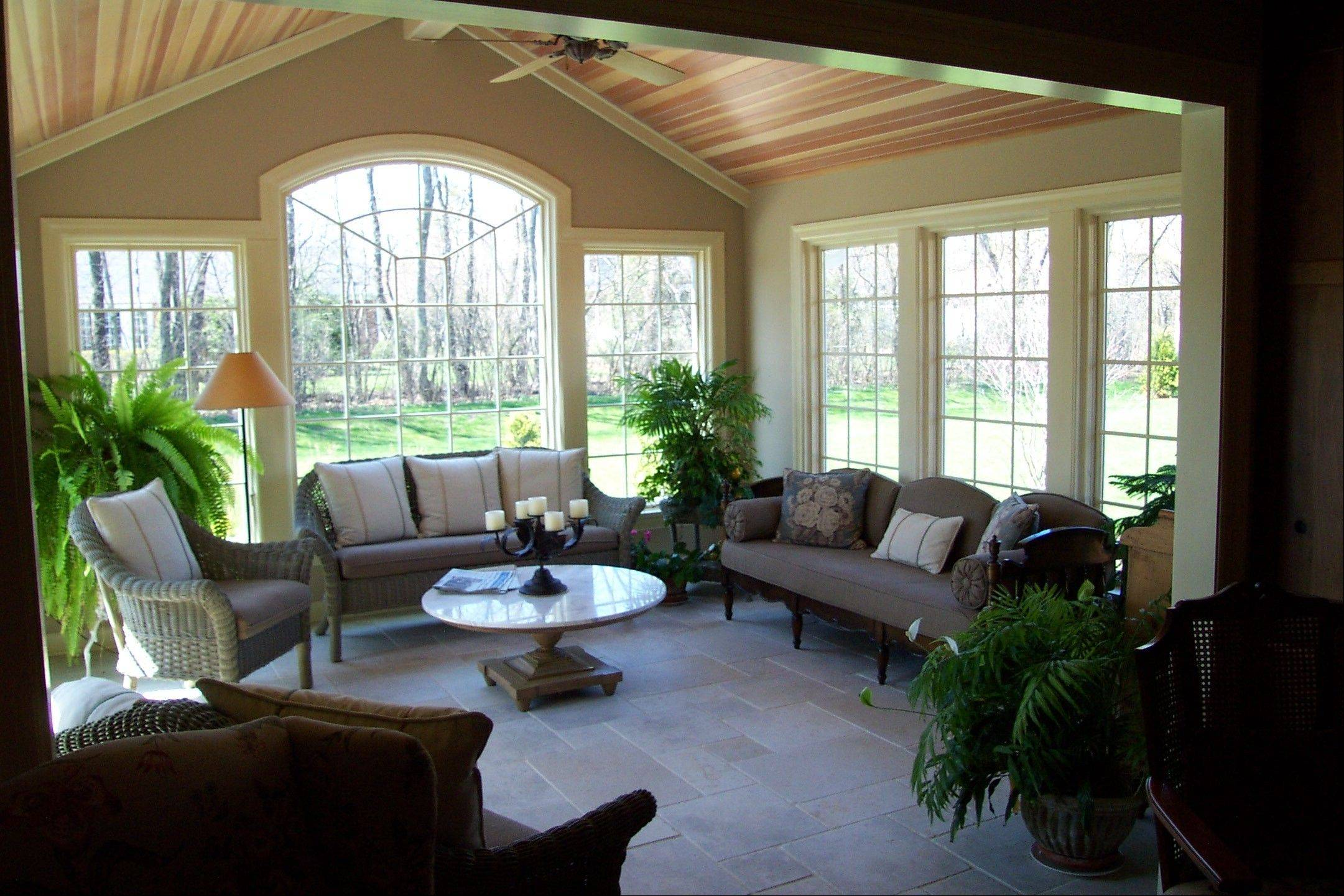 McDowell Inc. in St. Charles recently completed this sunroom addition.
