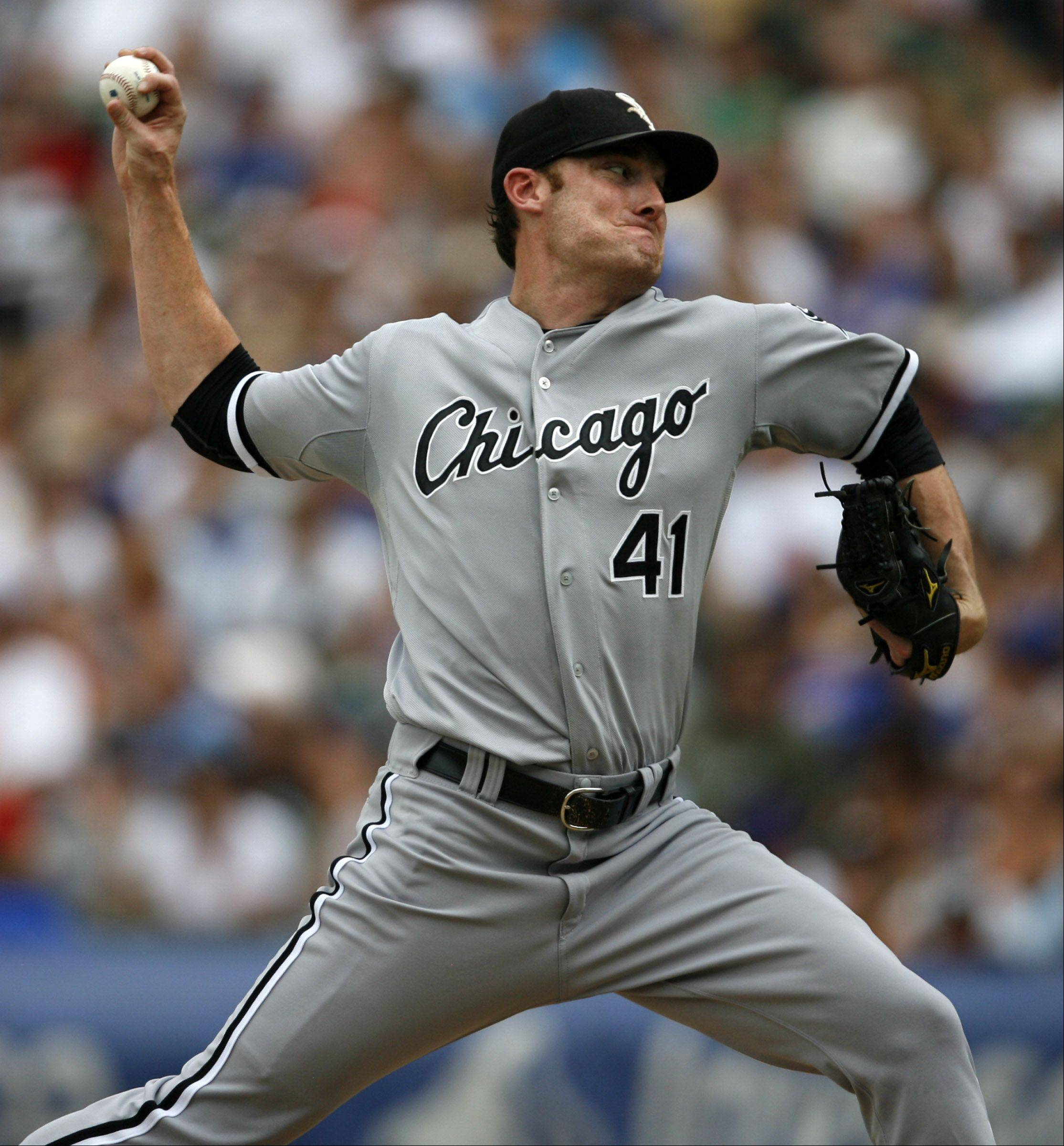 White Sox pitcher Philip Humber wins 1-0 over Cubs at Wrigley Field on Saturday.