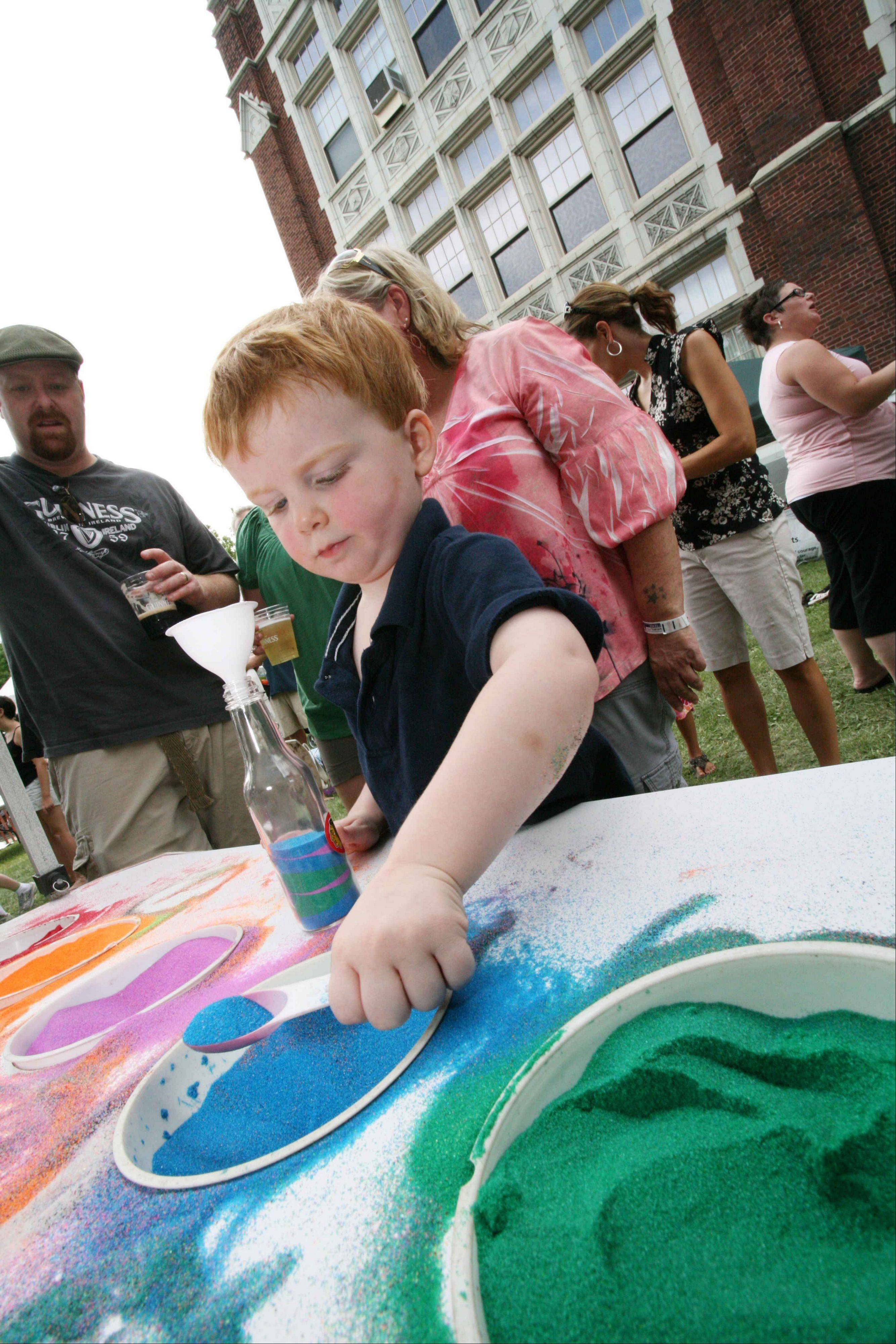 Kids can take part in plenty of fun activities at the annual Irish American Heritage Festival in Chicago July 8-10.