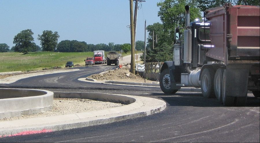 The roundabout at Hunt Club Road and Wadsworth Road in Old Mill Creek will open July 9. Traffic will be barred from heading south on Hunt Club, however, for construction of a second roundabout at Millburn Road. Both are scheduled to be fully open in early fall.
