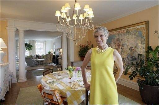 New York real estate expert Barbara Corcoran now lives in a three-bedroom apartment on Park Avenue.